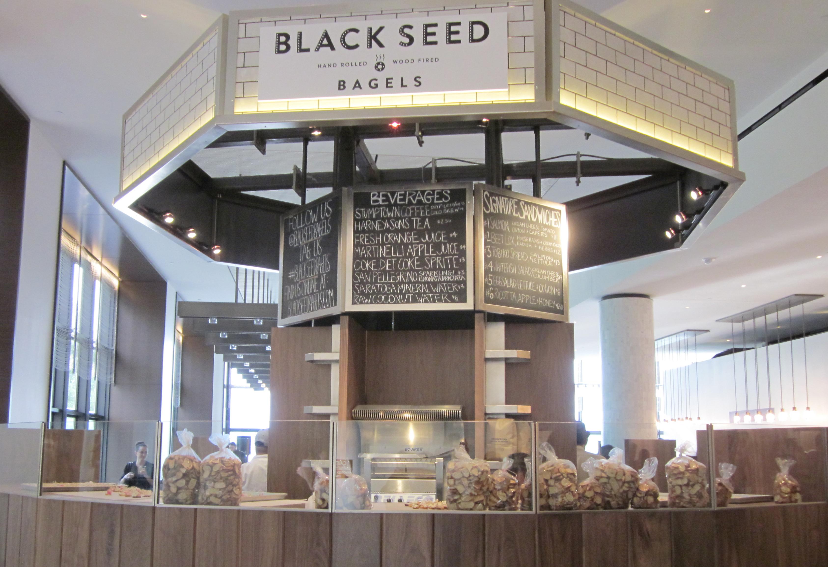Black Seed Bagel