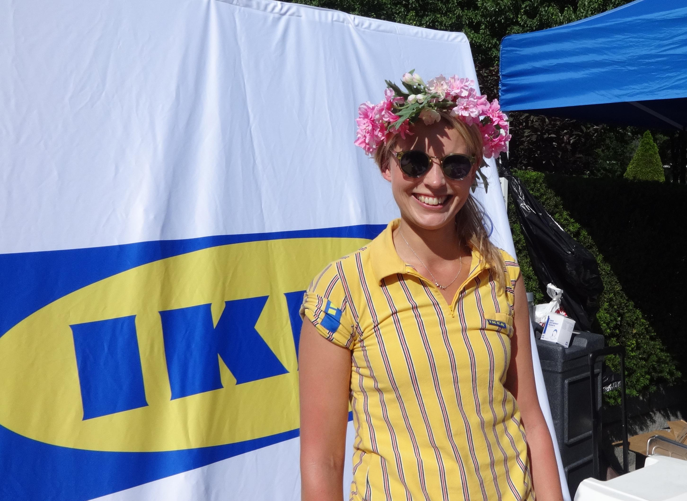 Ikea Swede lady