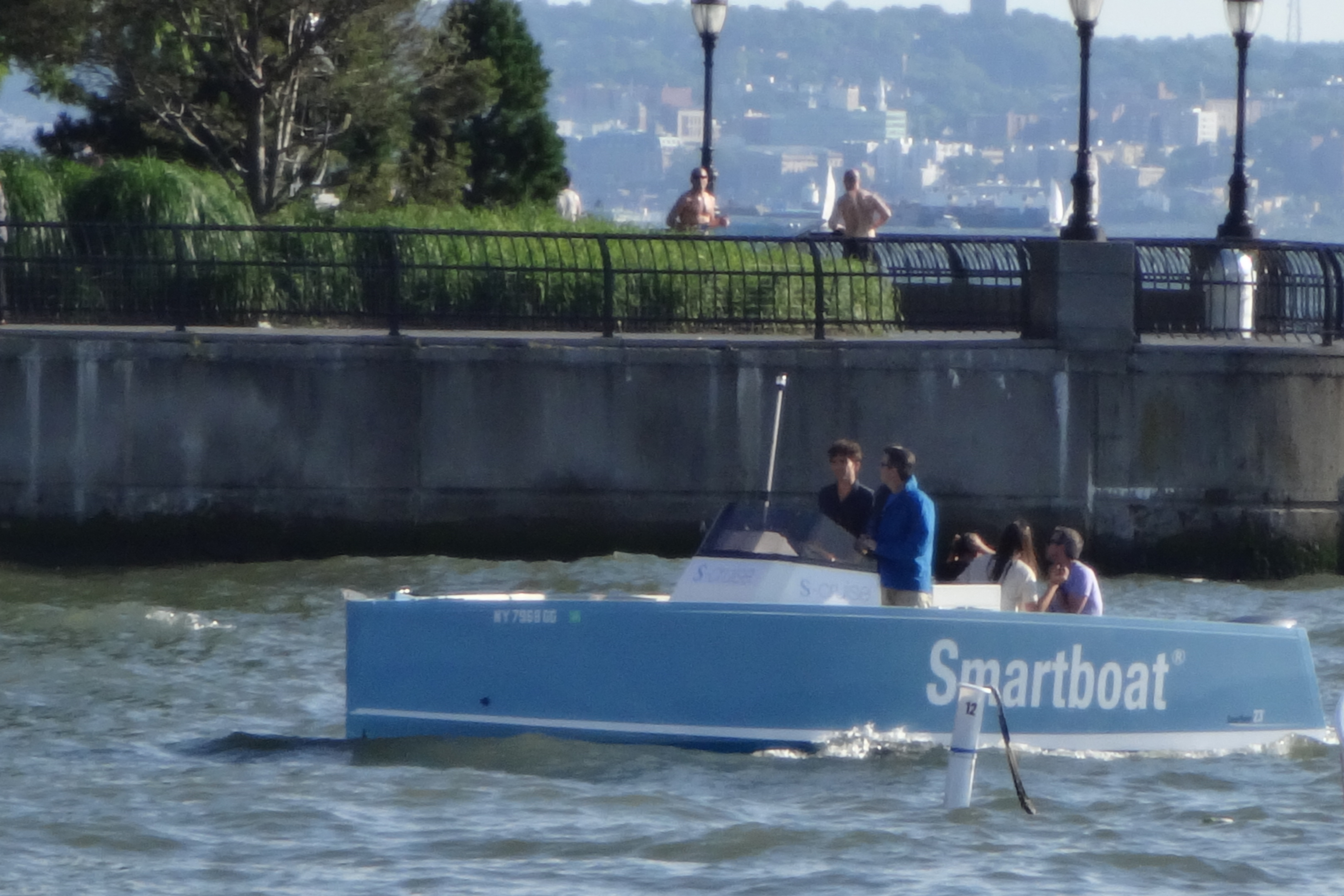Smartboat in water