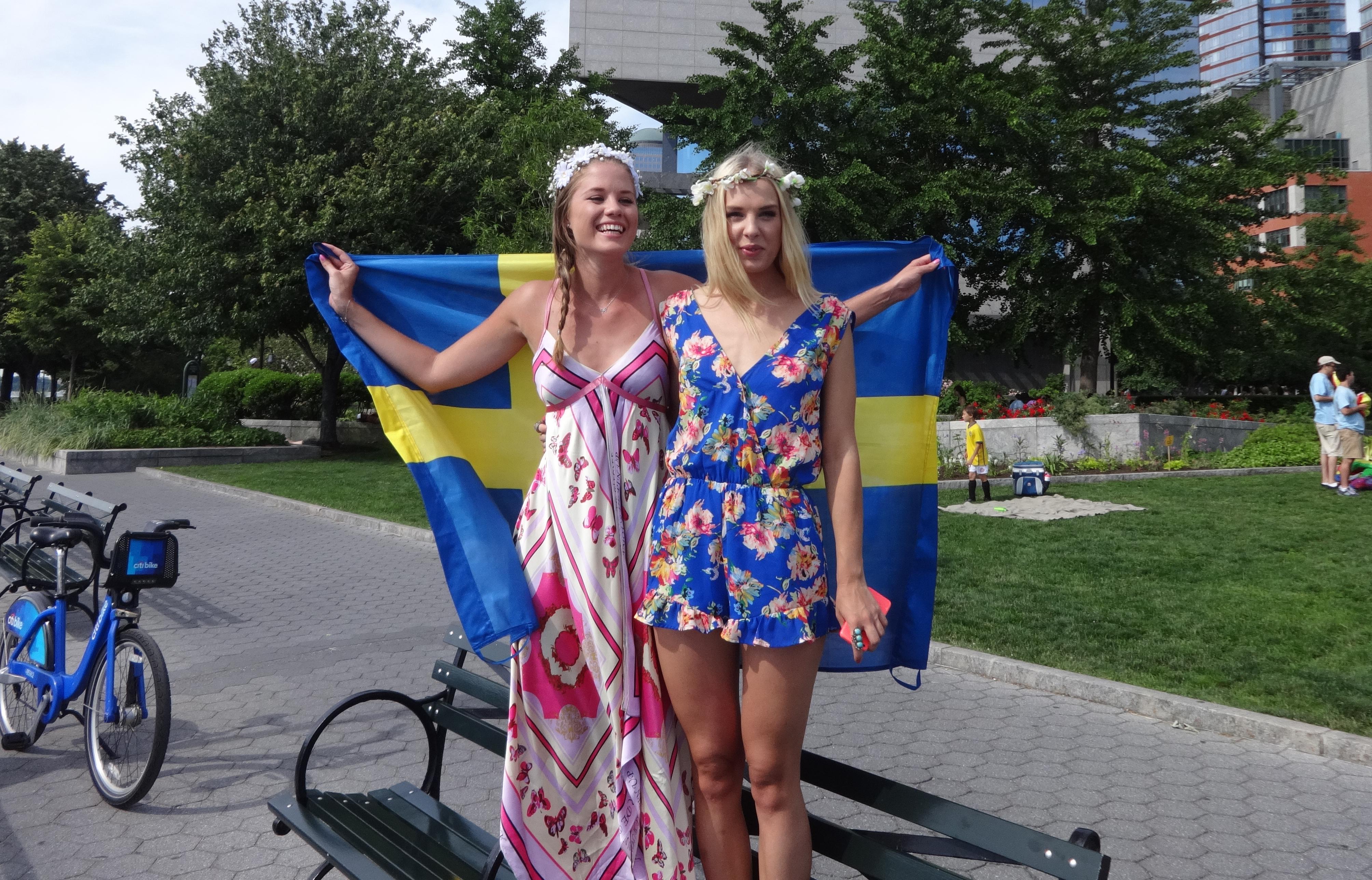 Swedish girls pair