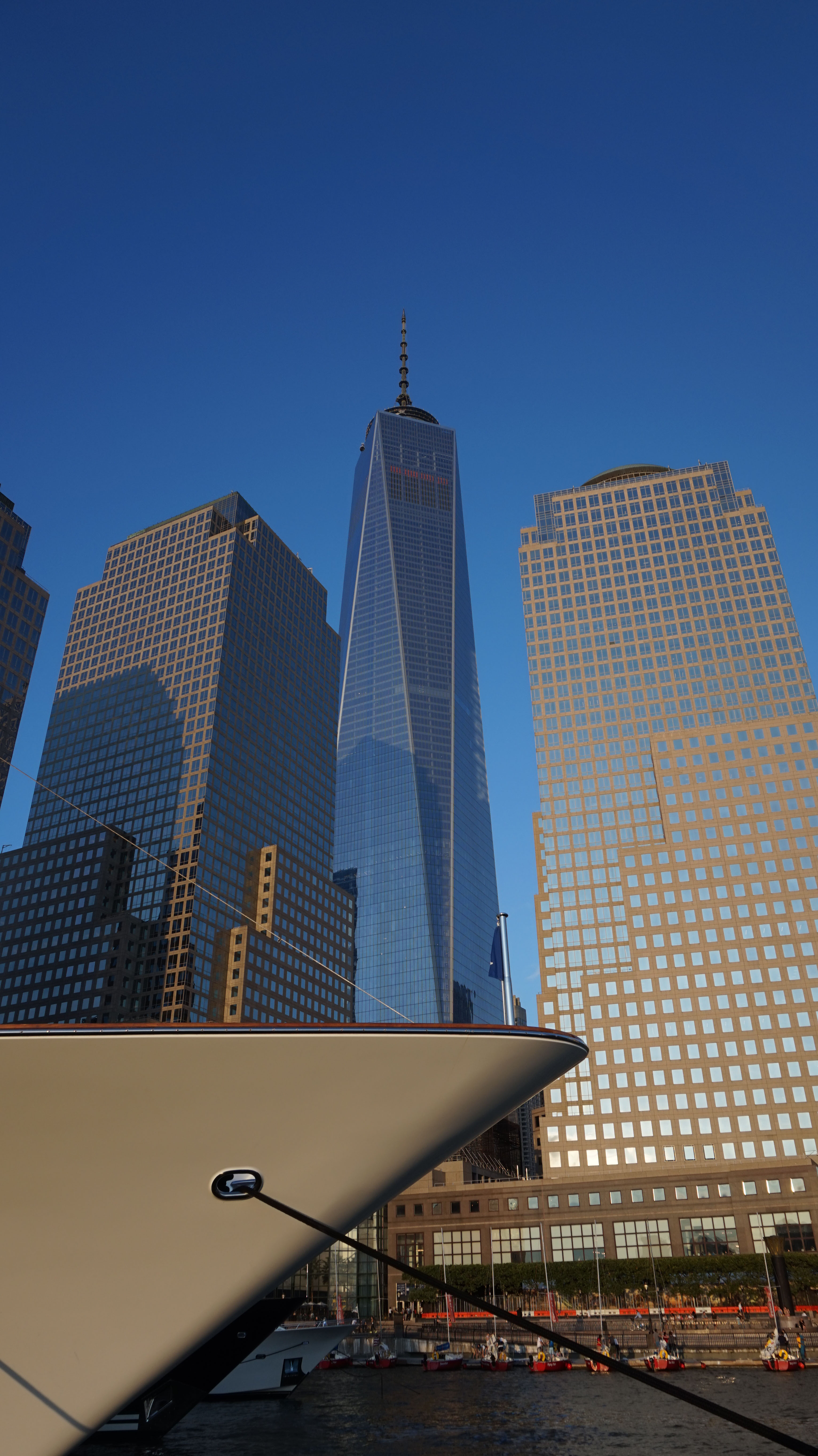 Bow and freedom Tower