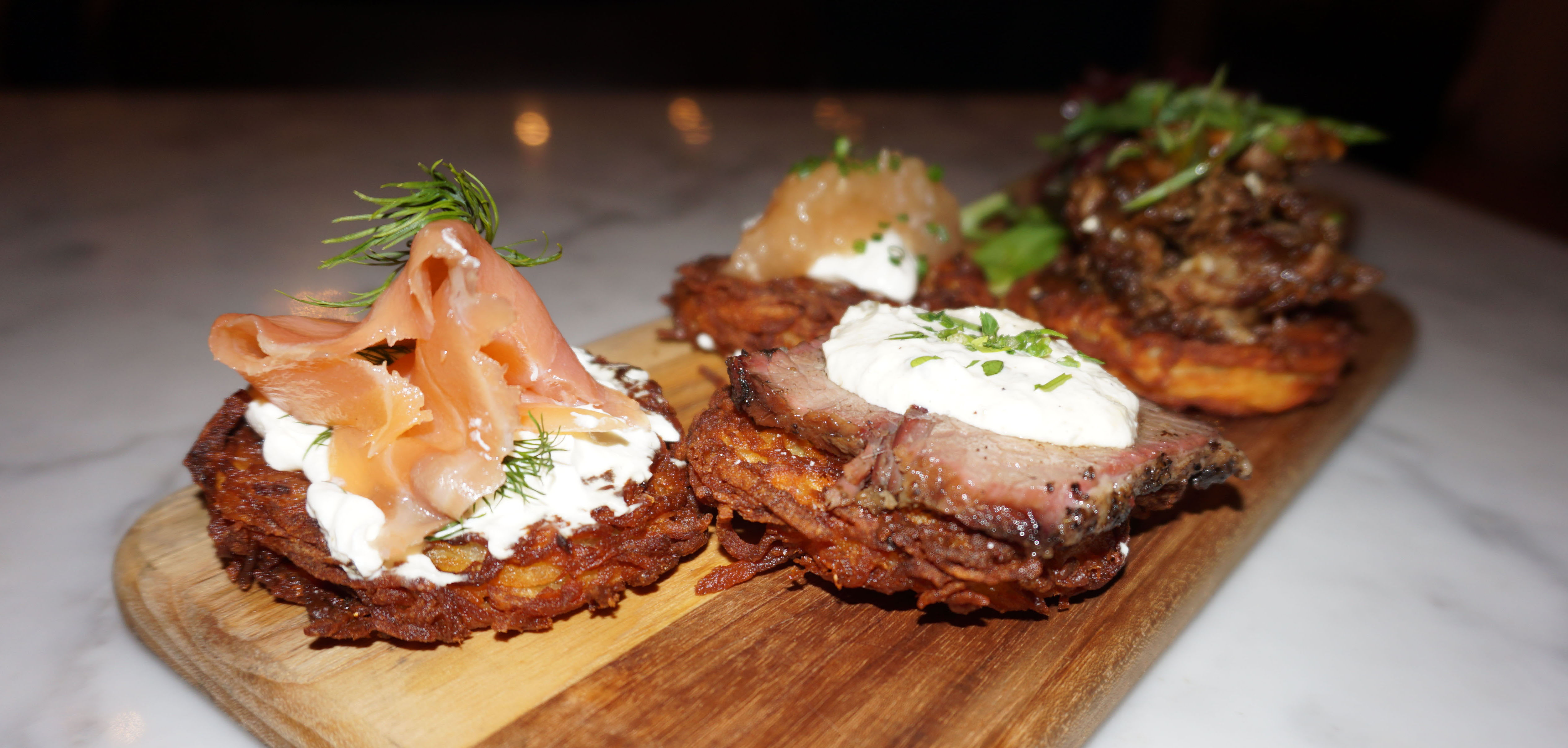 Latke plank Kutshers low