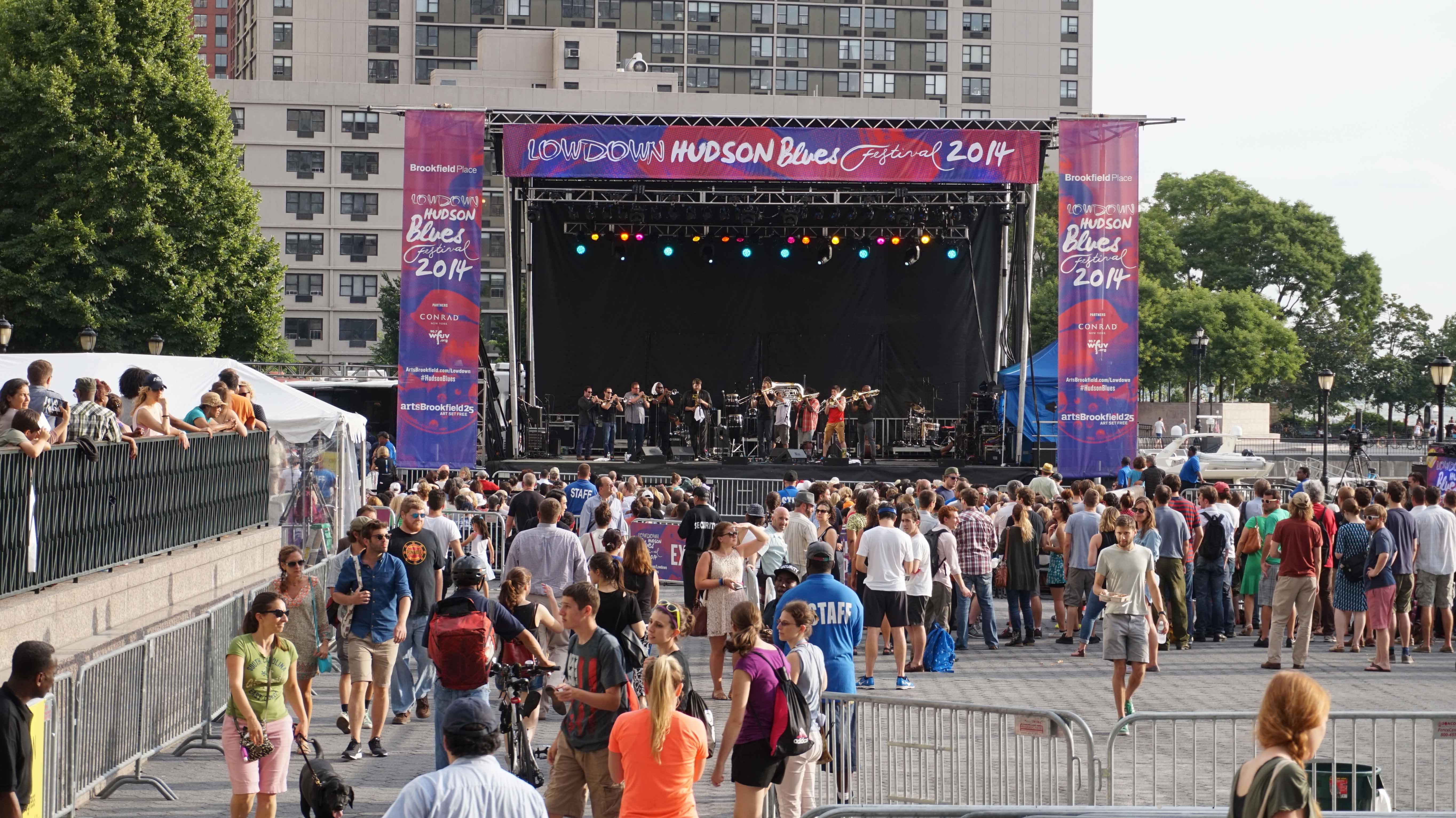 Lowdown Hudson Blues stage 7-16-2014 low res