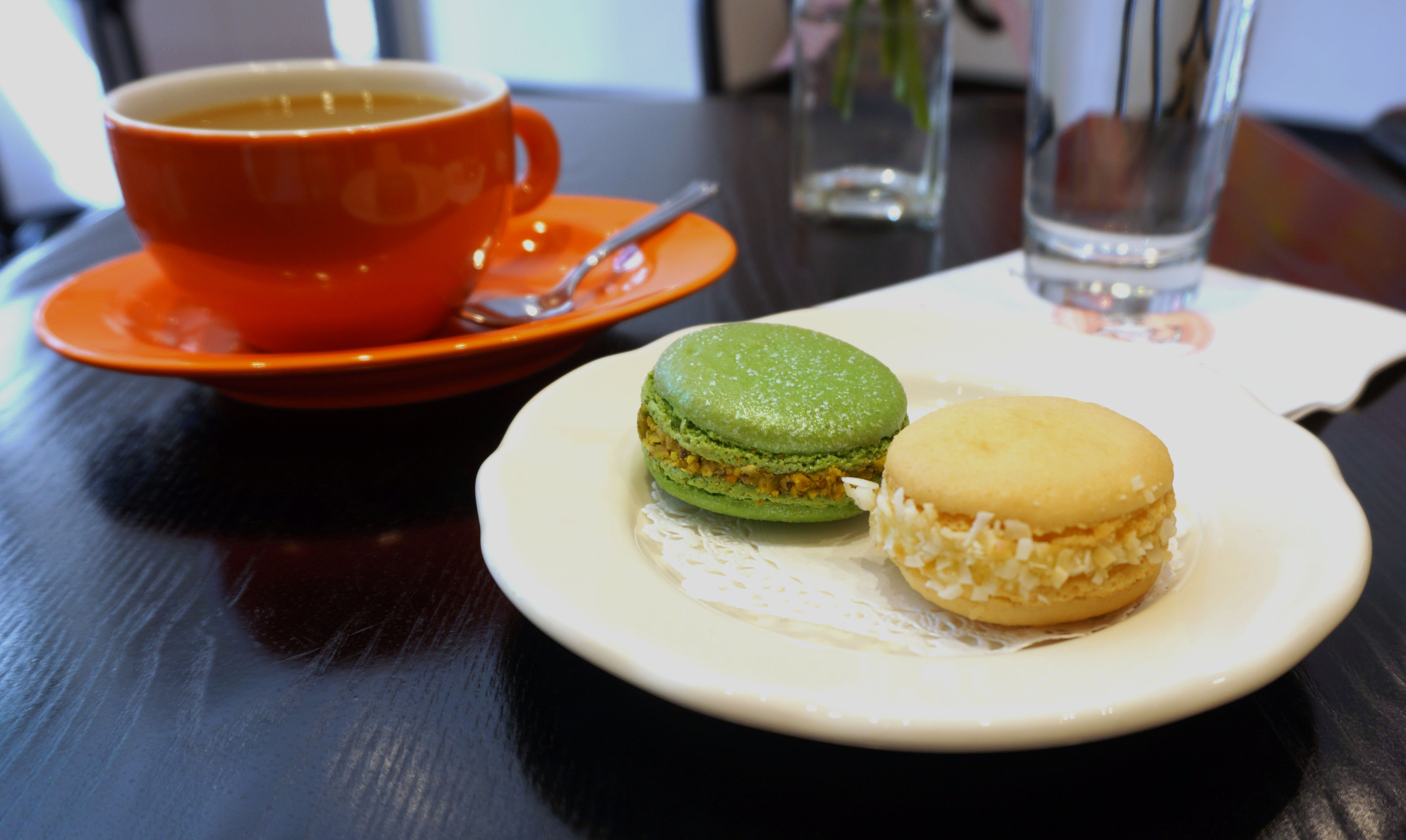 Macaron Cafe Book And Macaron Cafe Macarons