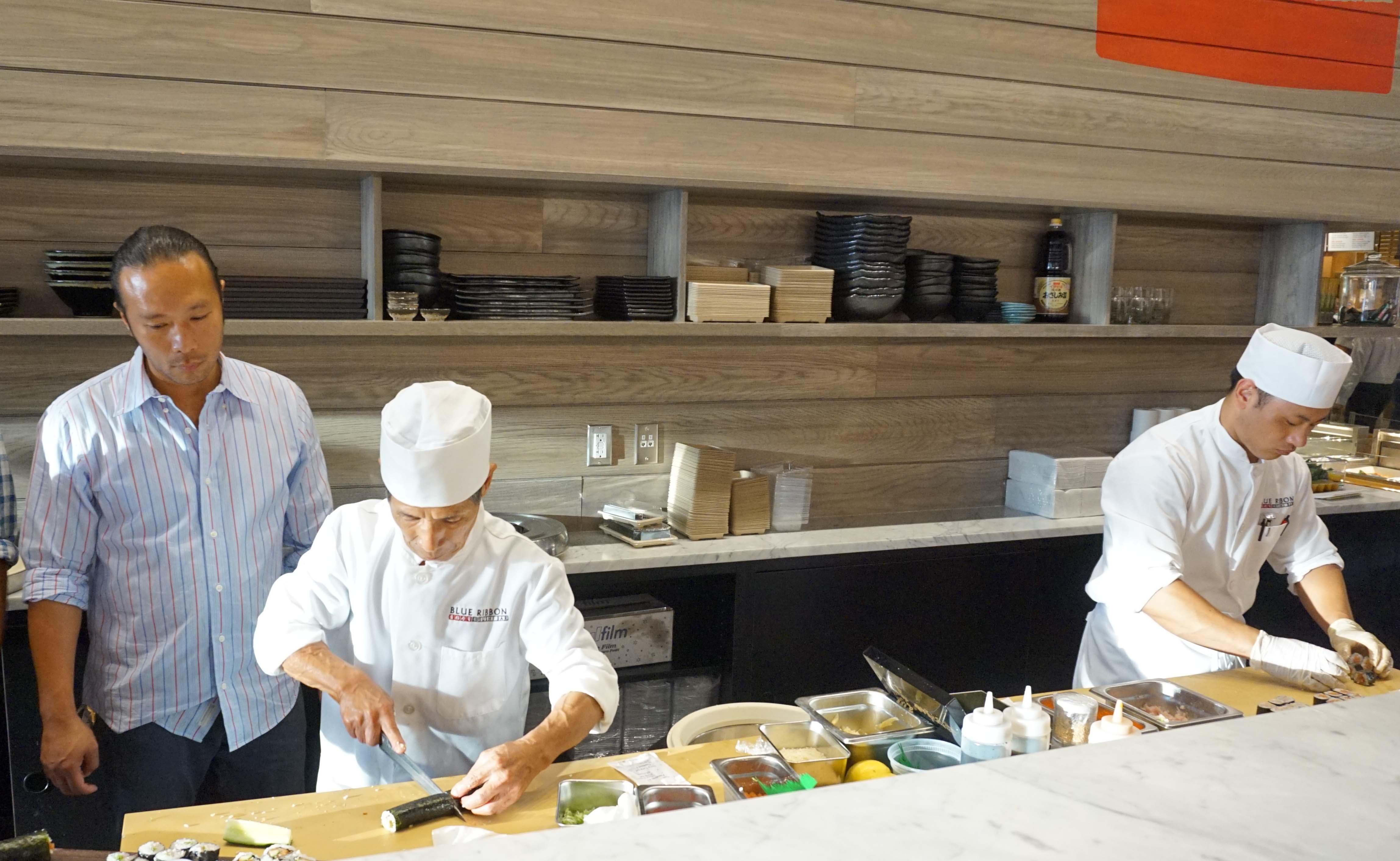 Toshi Blue Ribbon Sushi