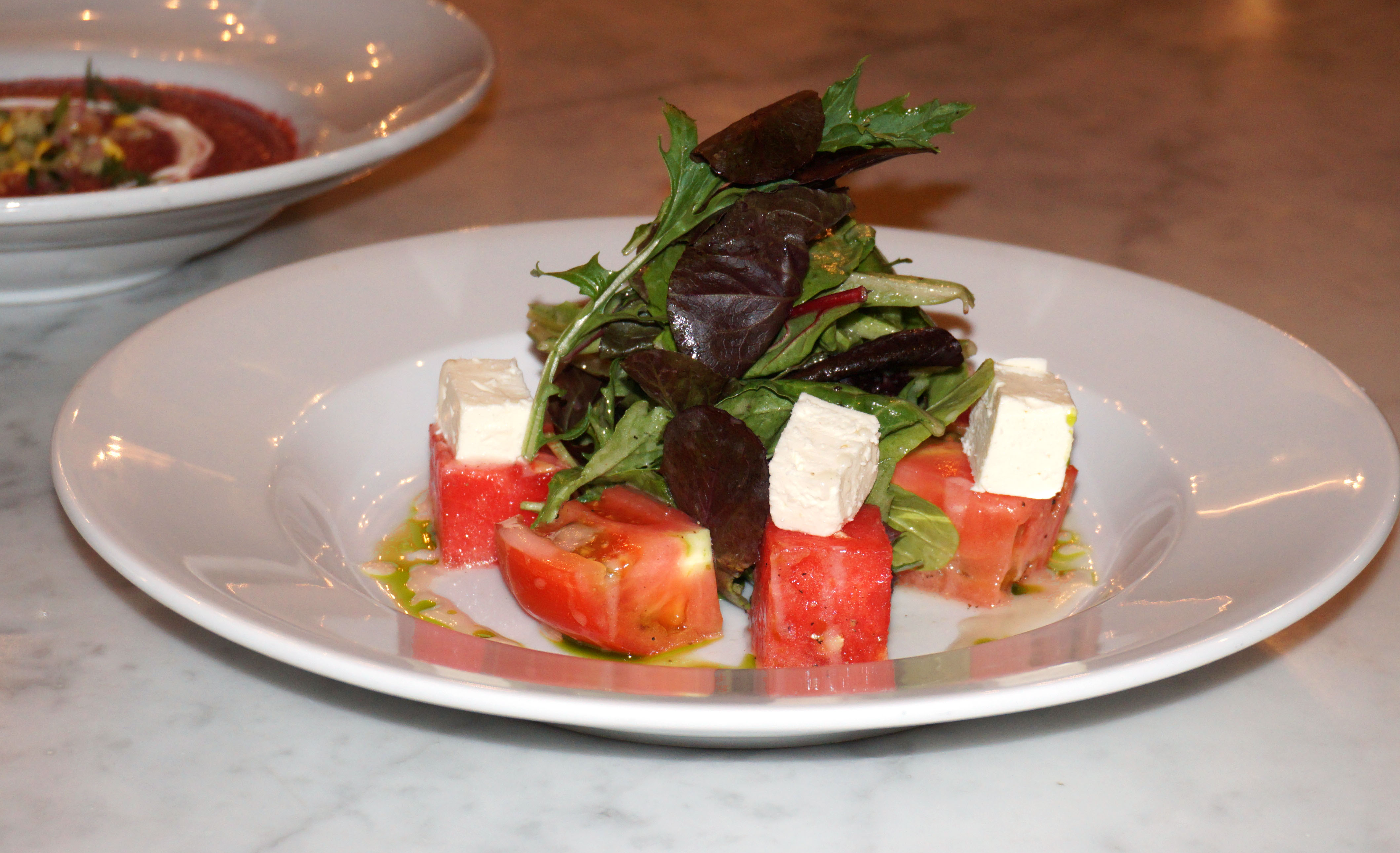 Watermelon salad Kutshers low