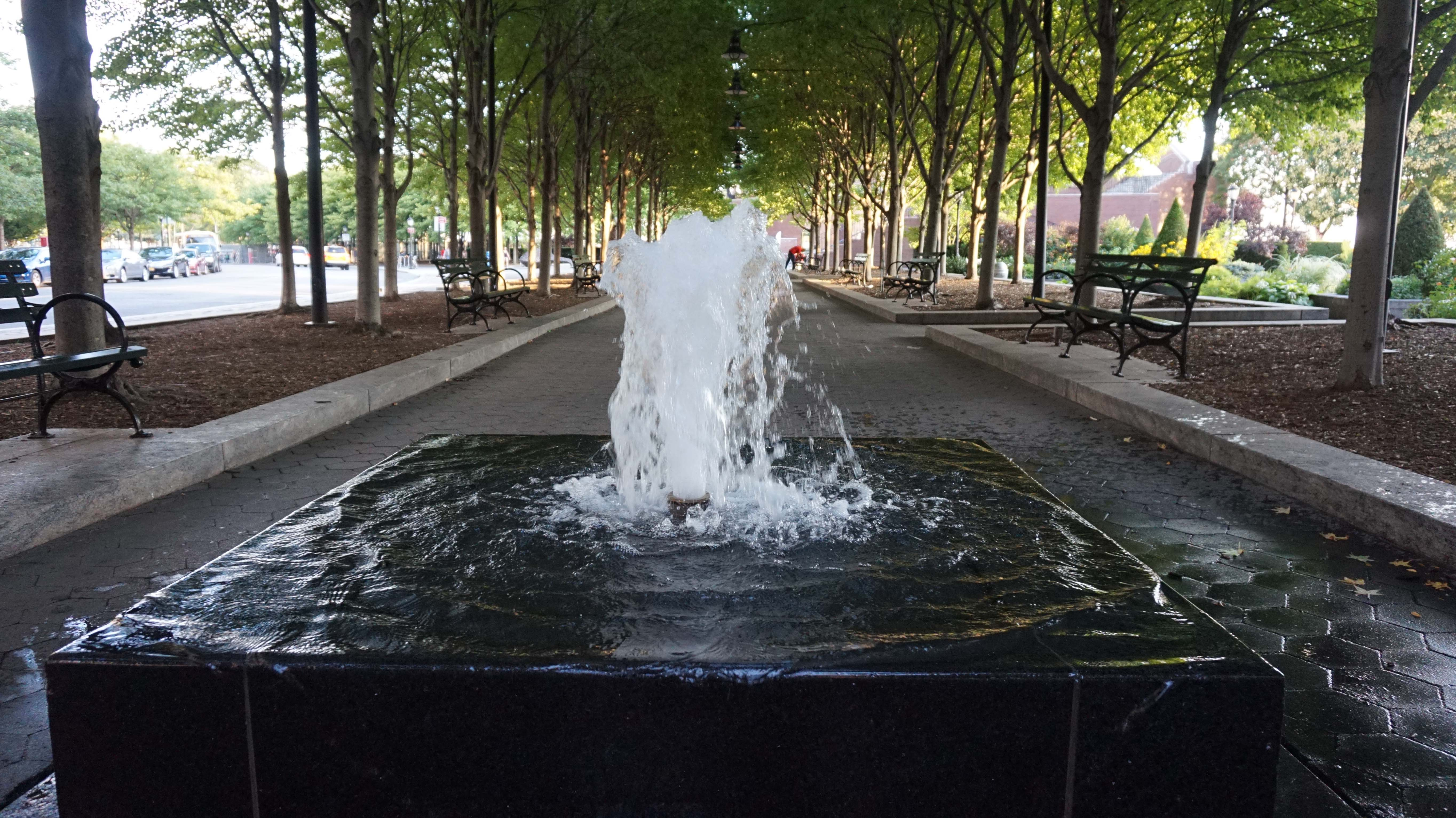 Fountain in Wagner Park low