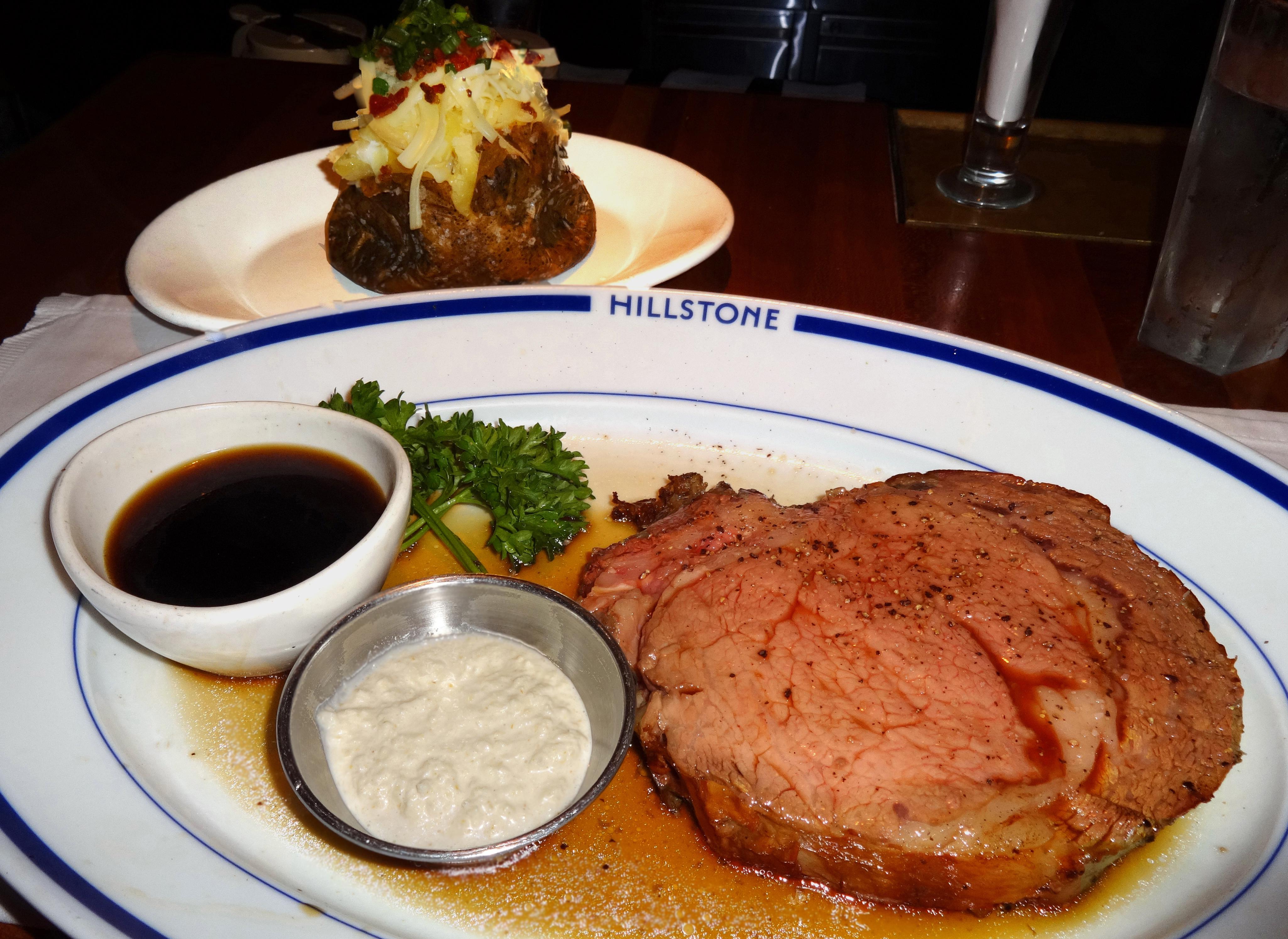 Hillstone prime rib