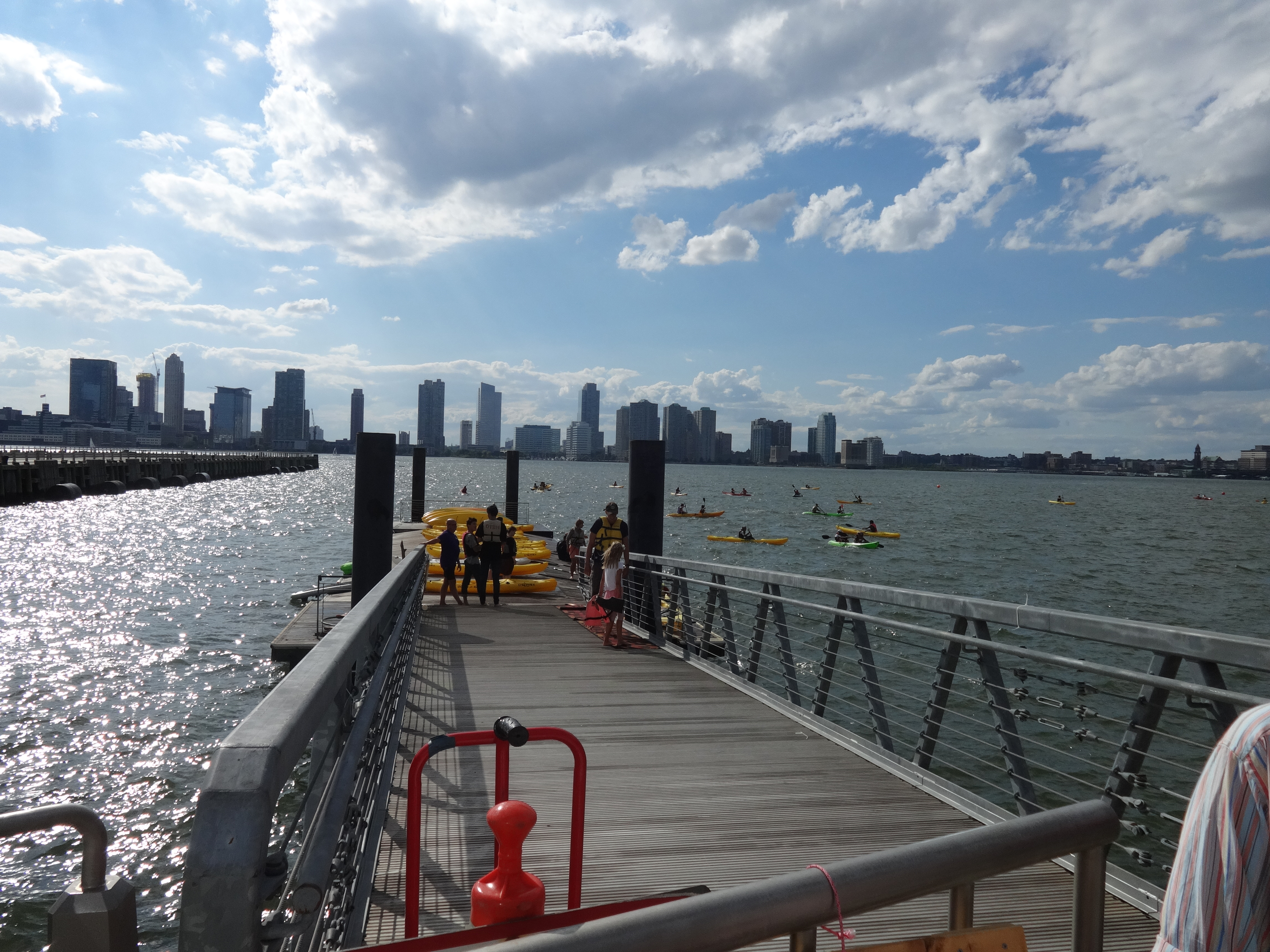Pier 26 kayaks ramp