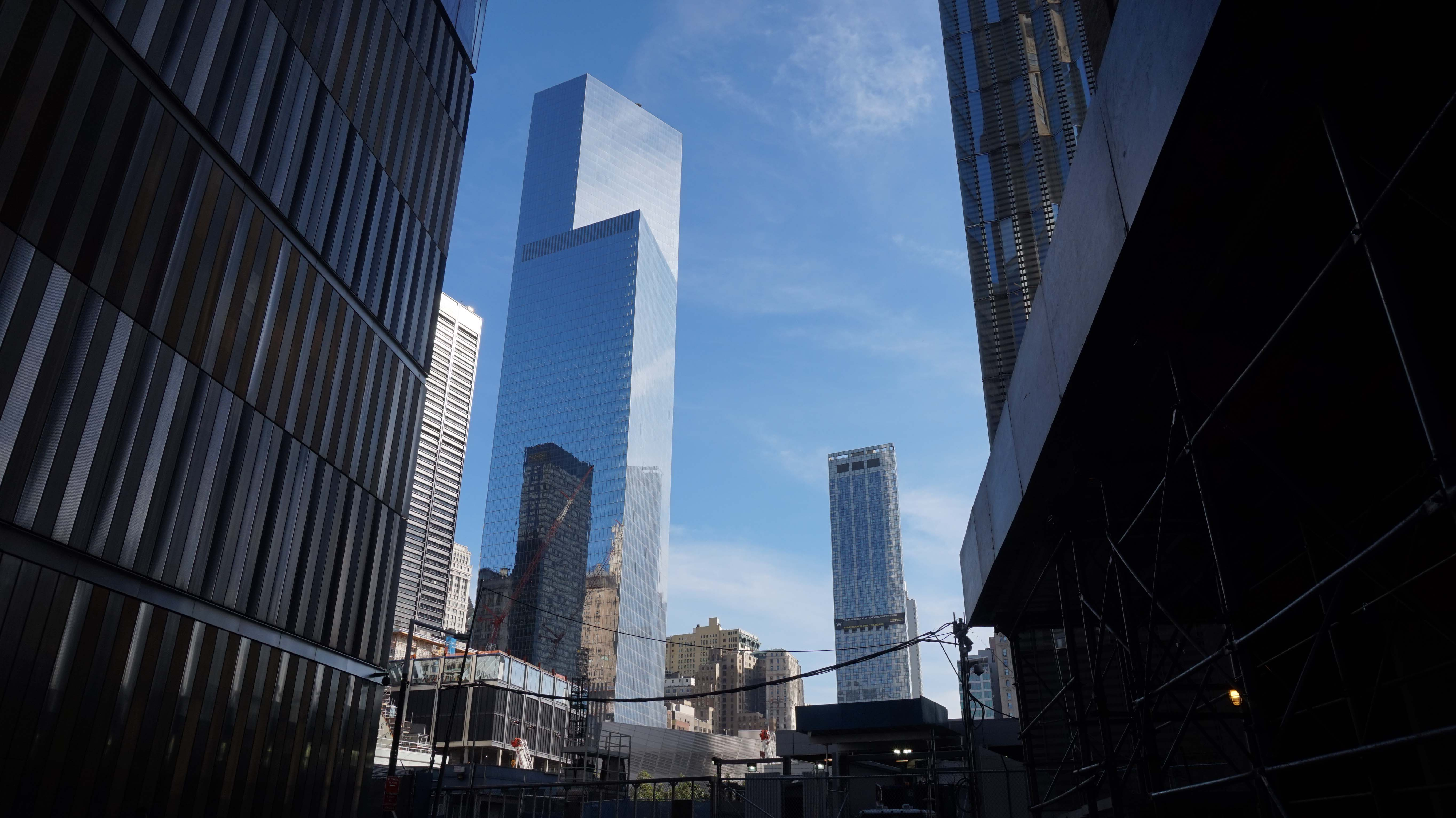 WTC Tower 4 from the north looking south