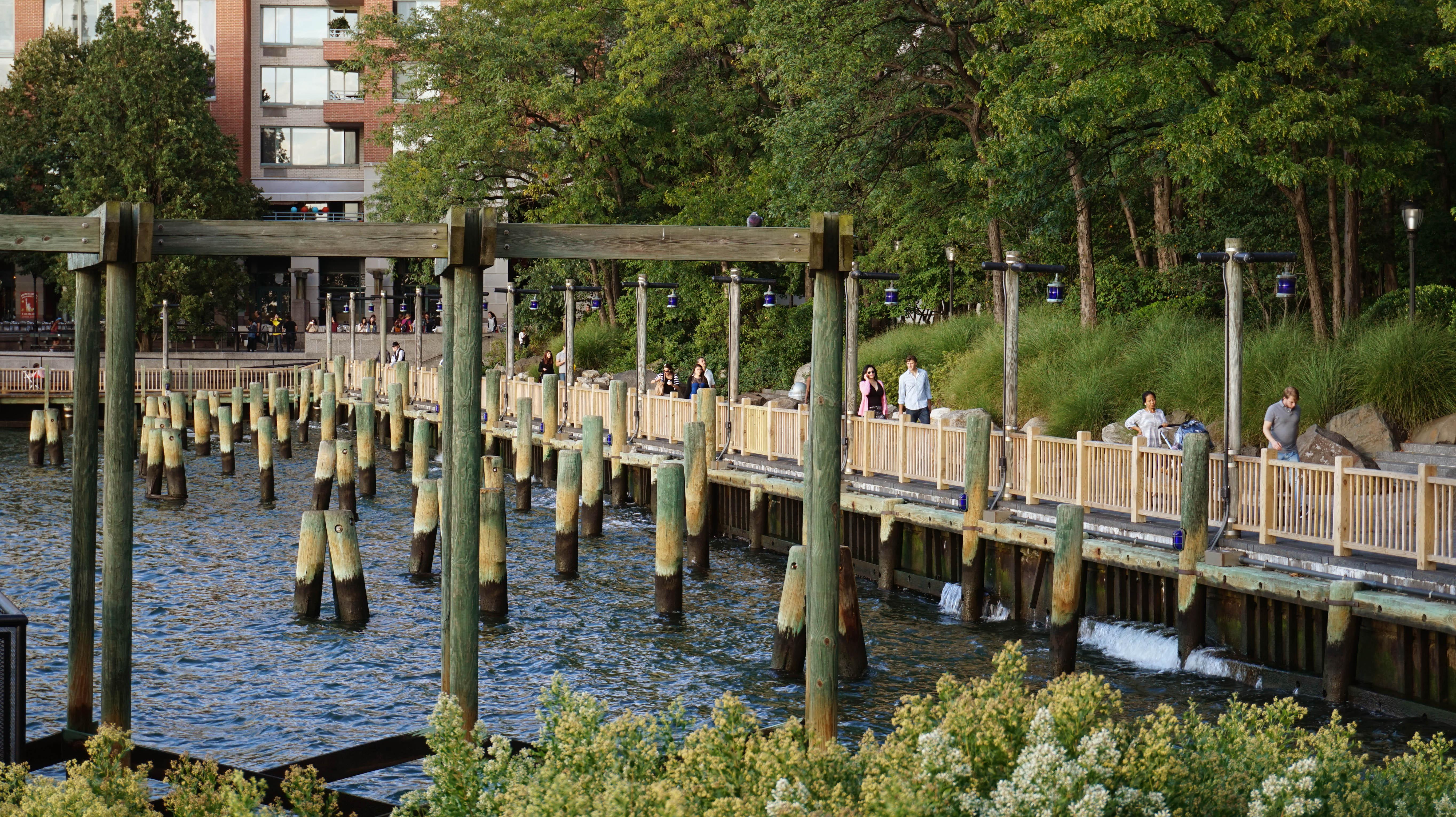 South cove esplanade from bridge 9-17-2014