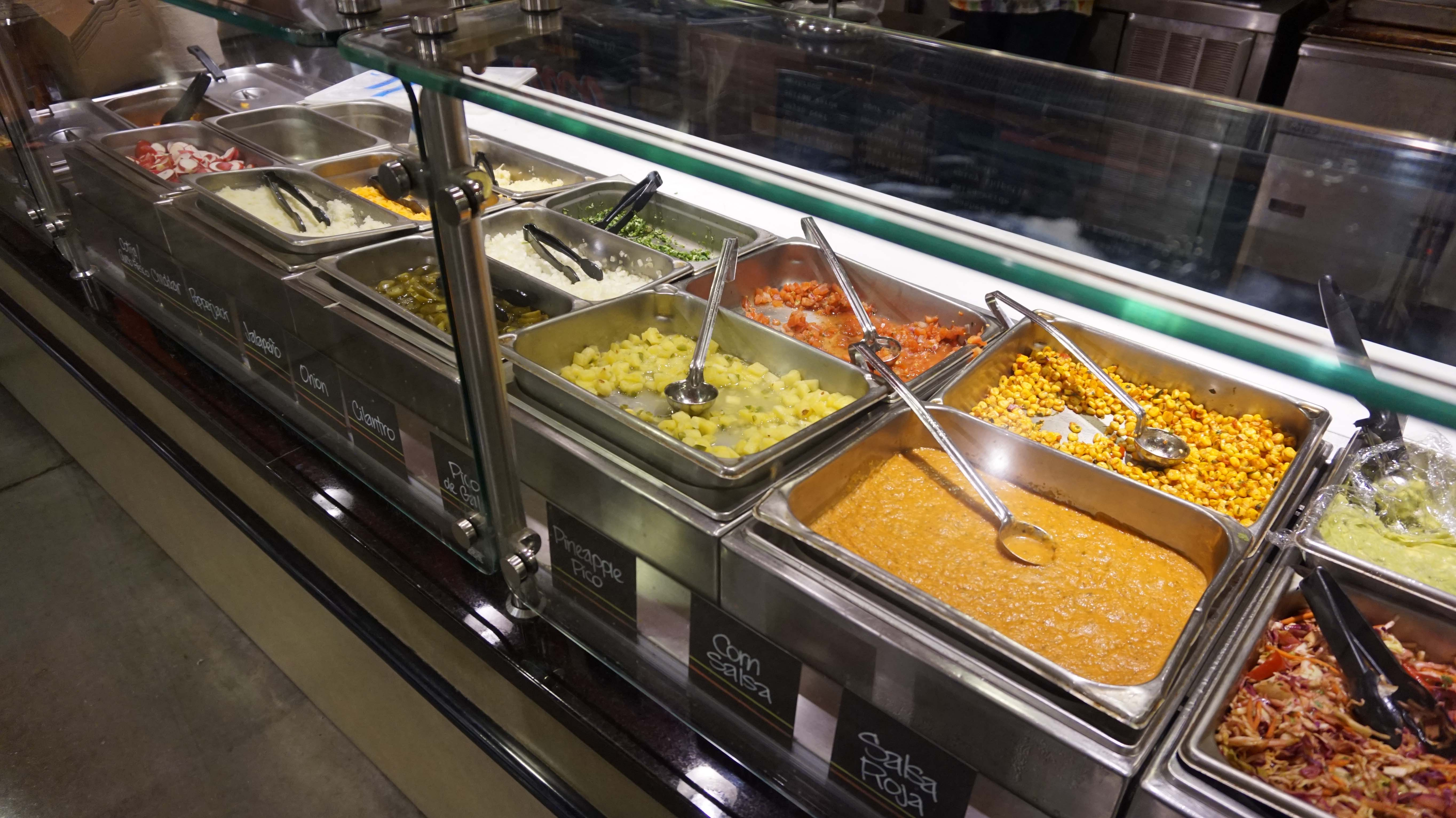 Whole Foods taco toppings