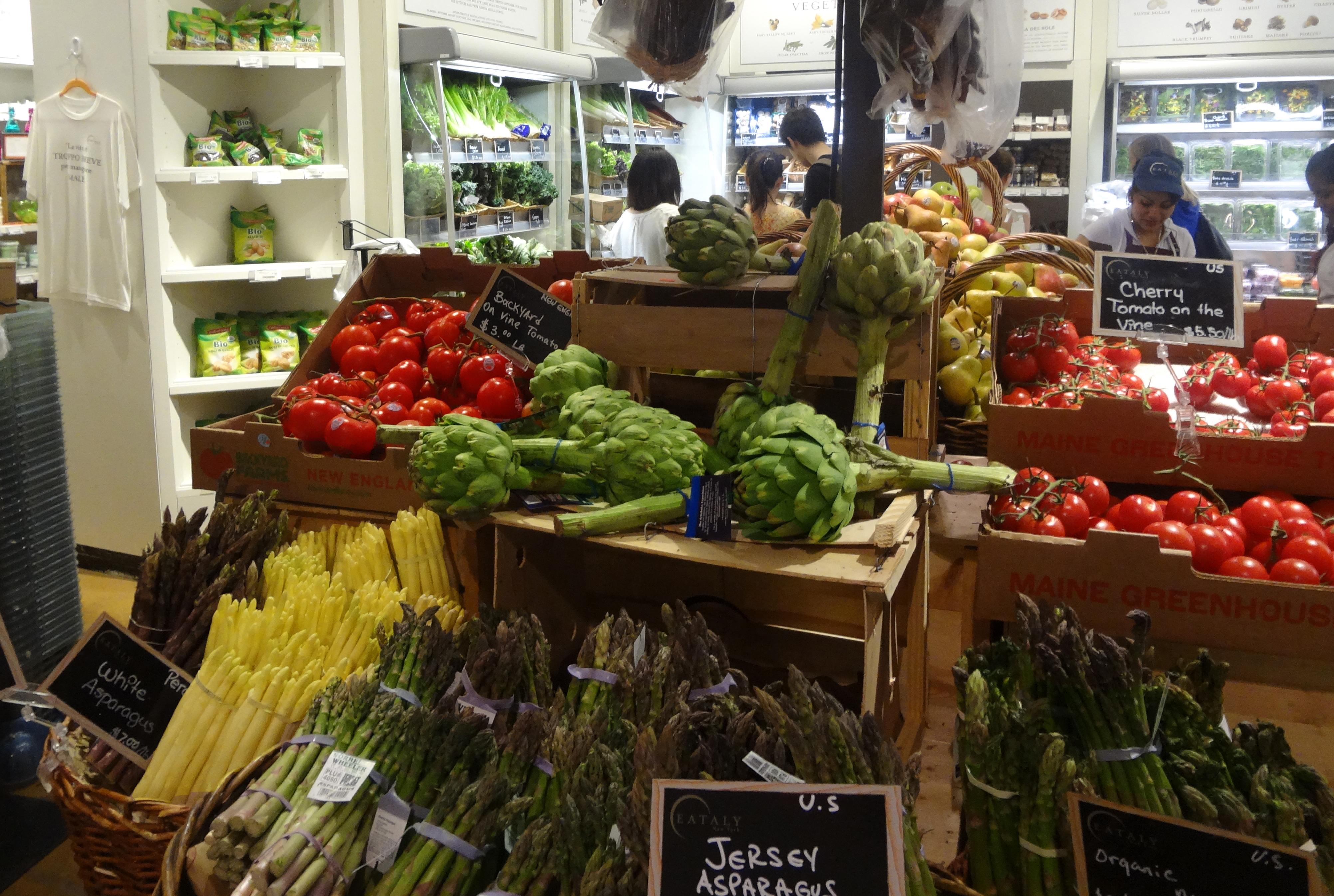 Eataly vegeatables