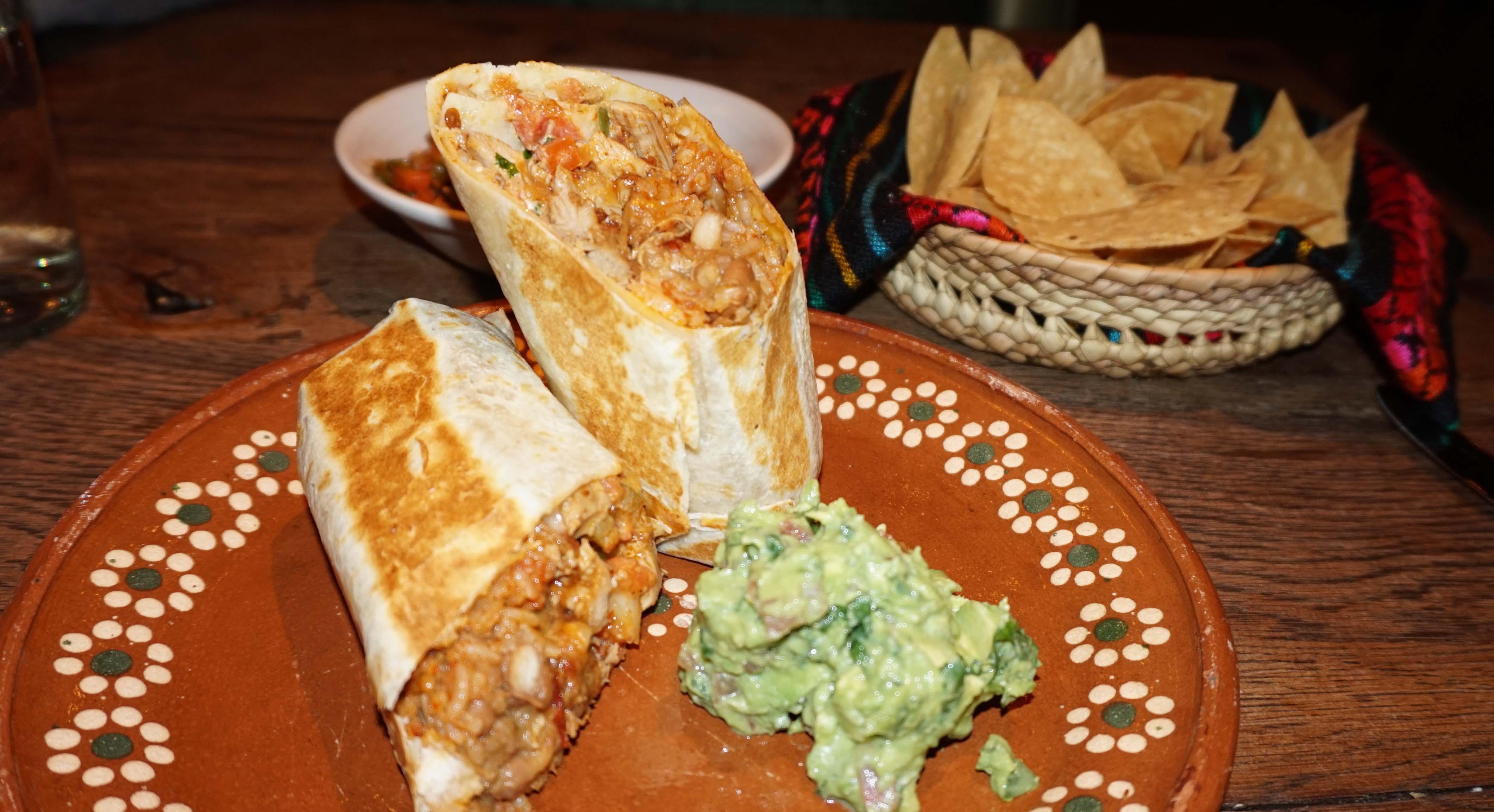 El Vez chicken burrito final