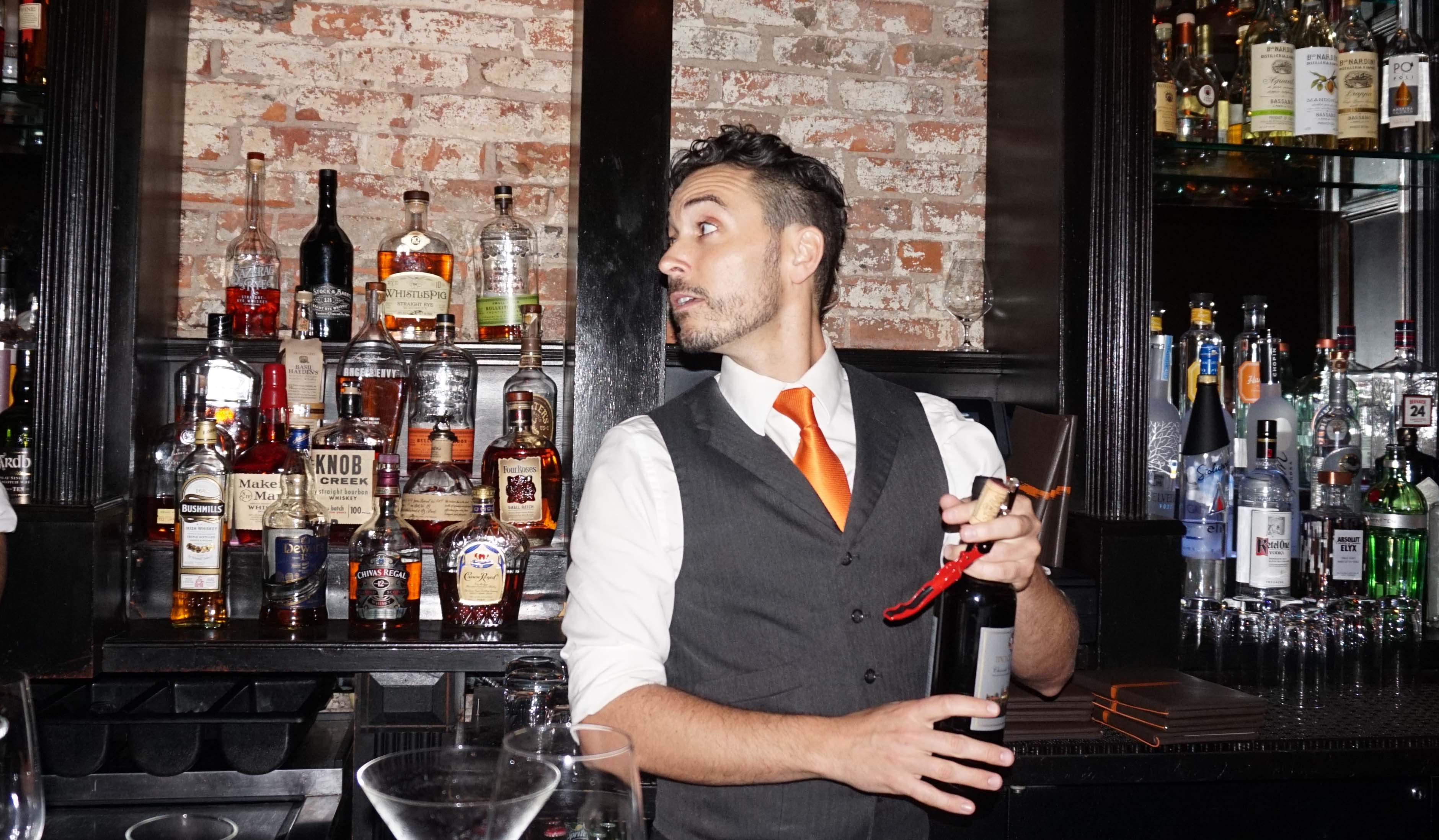 Scarpatta bartender