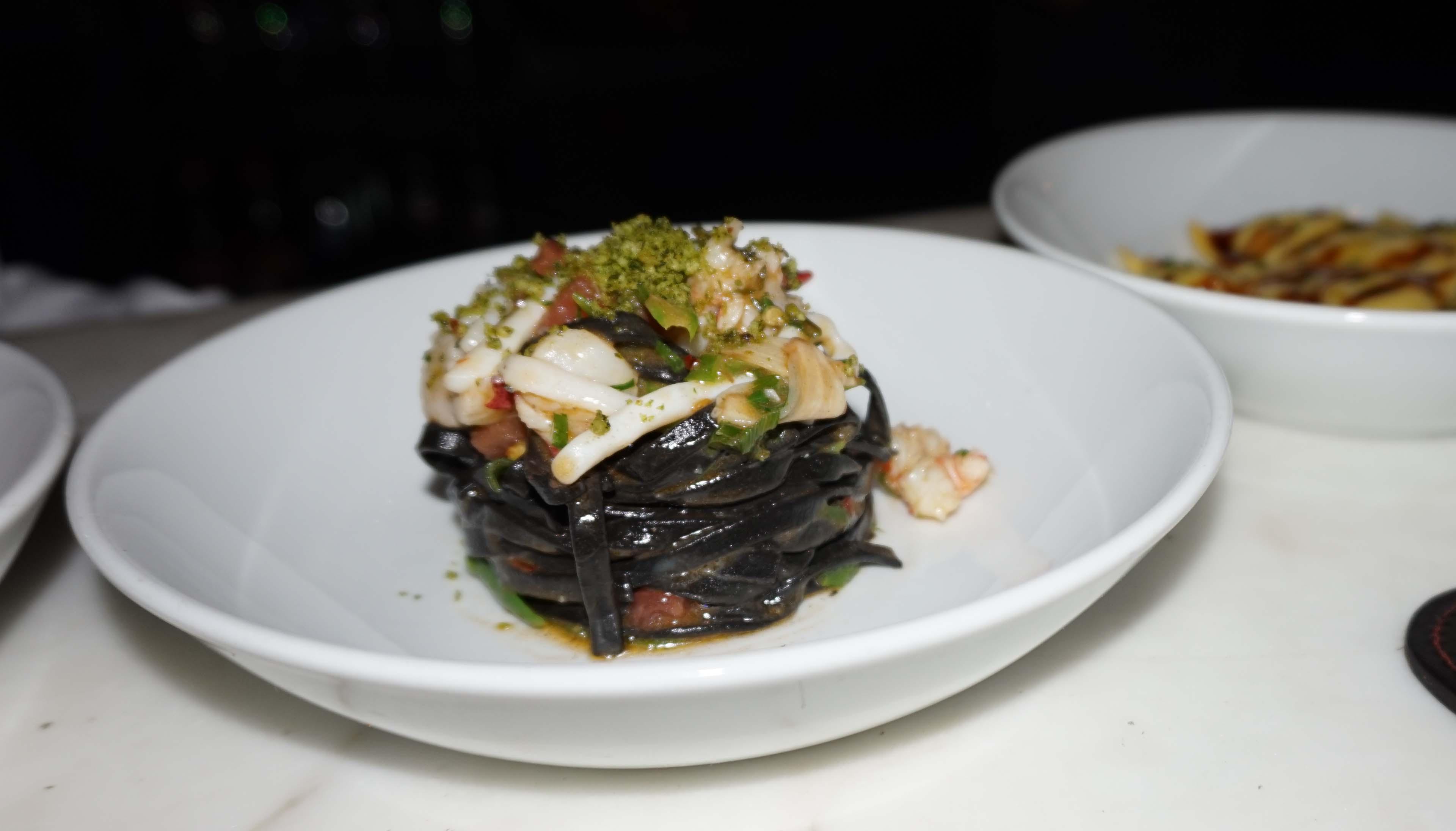 Scarpetta black pasta seafood