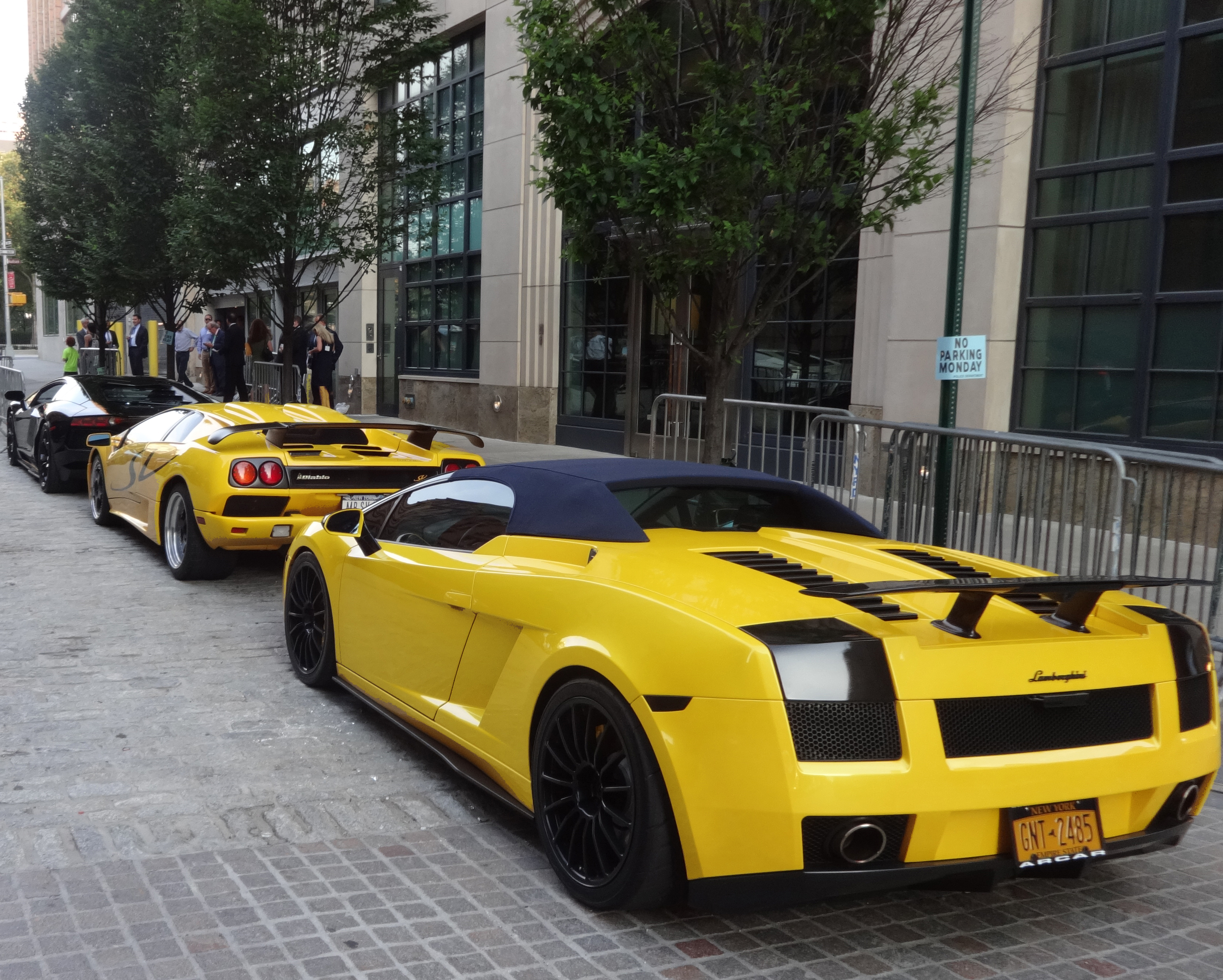 Lamborghinis-in-front-of-Wilzig