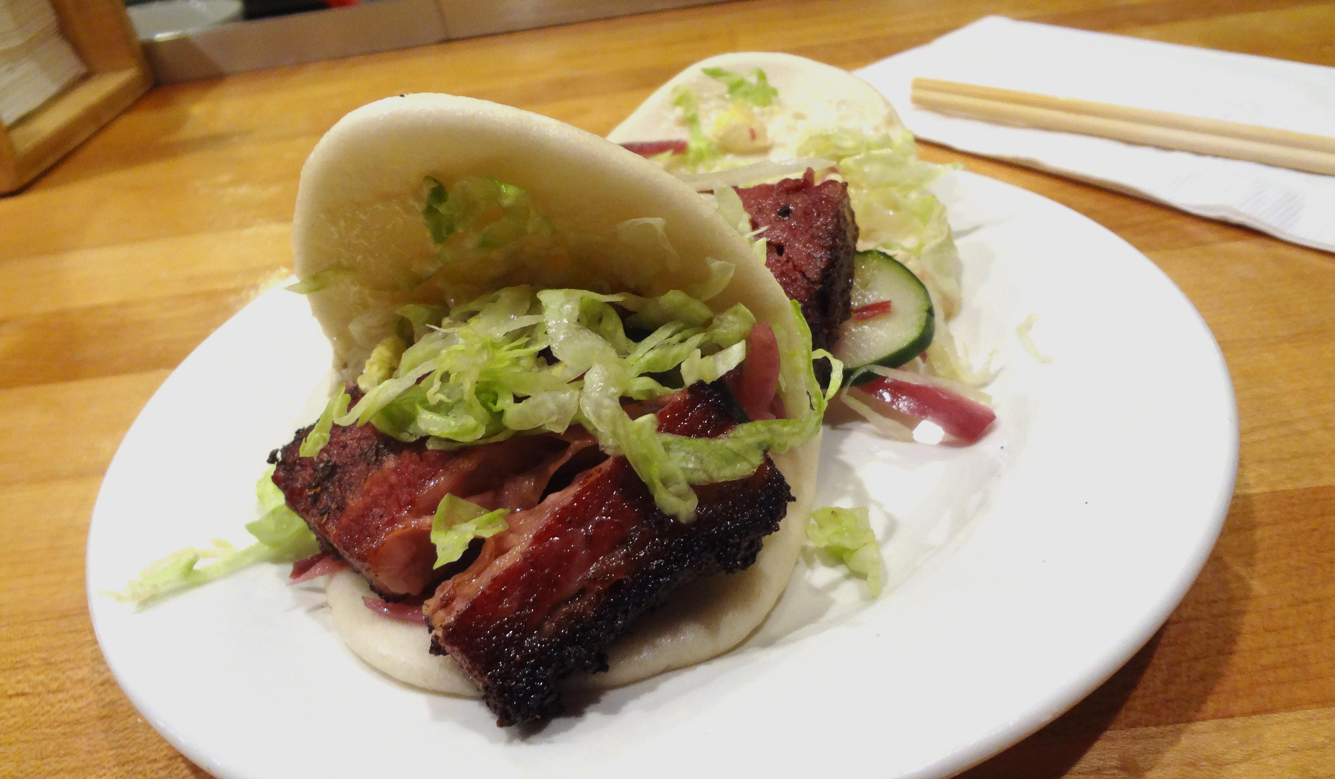 Momofuku pork buns