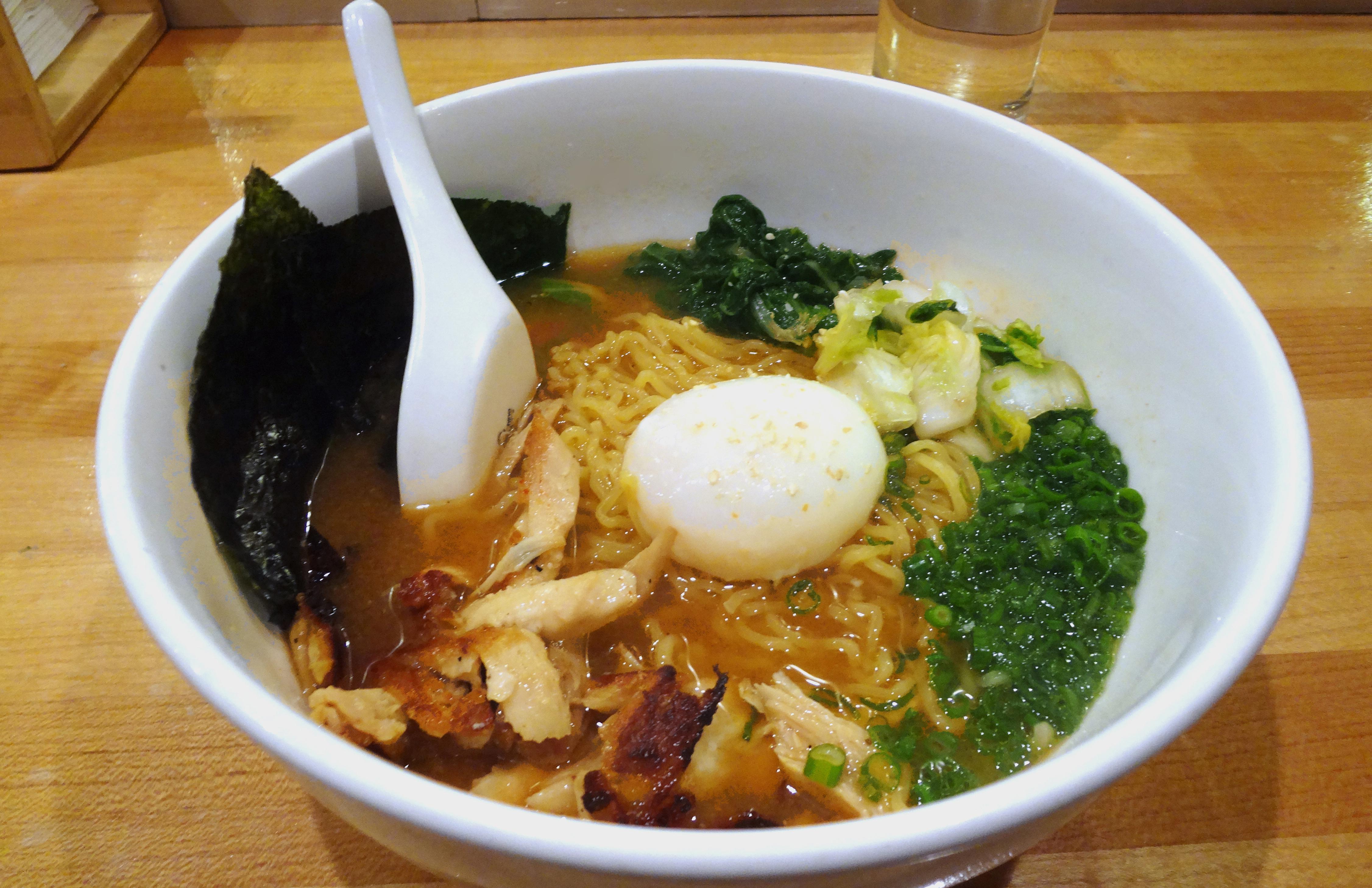 Momofuku ramen noode soup