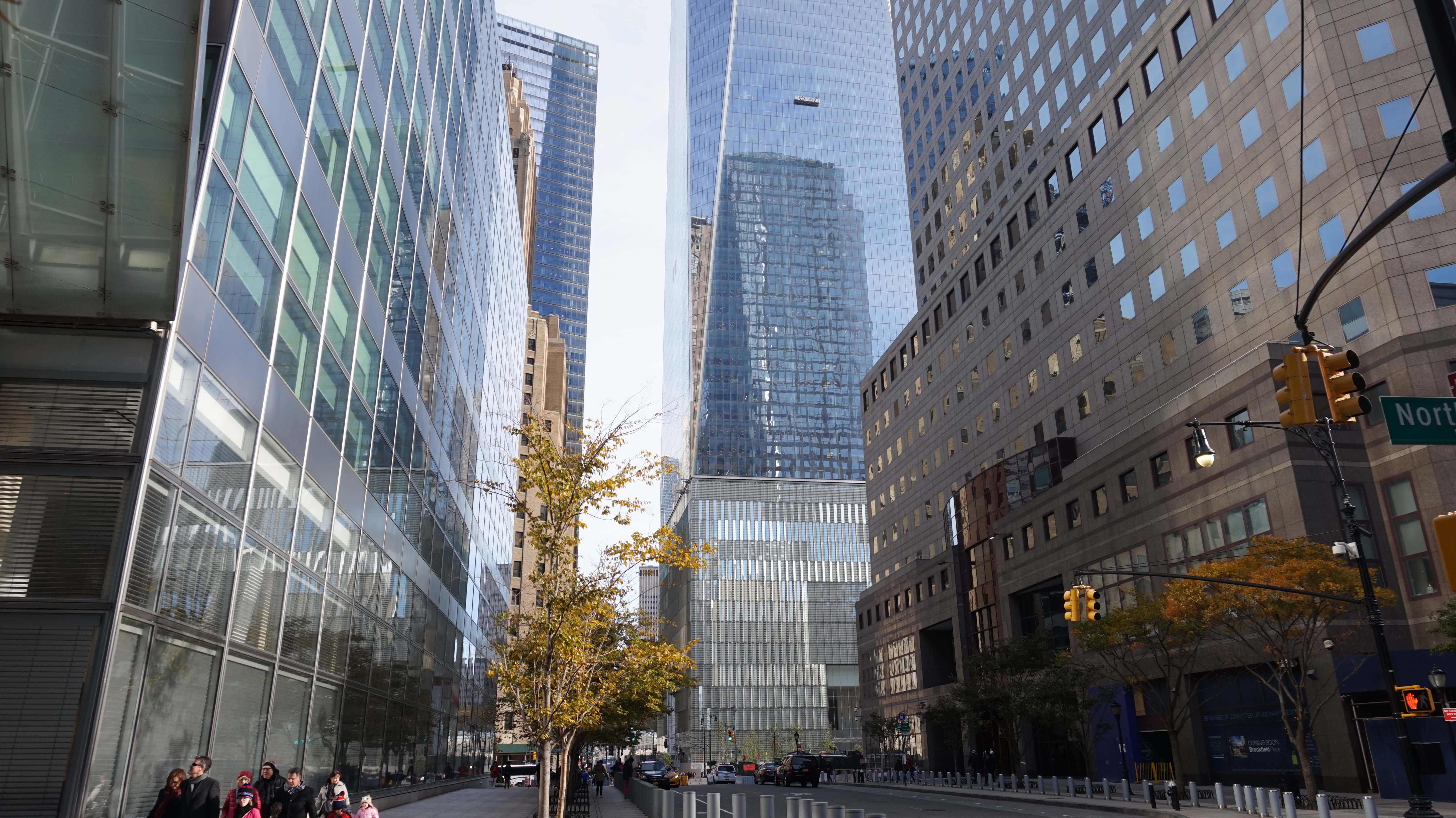 One World Trade Center from Goldman Sachs