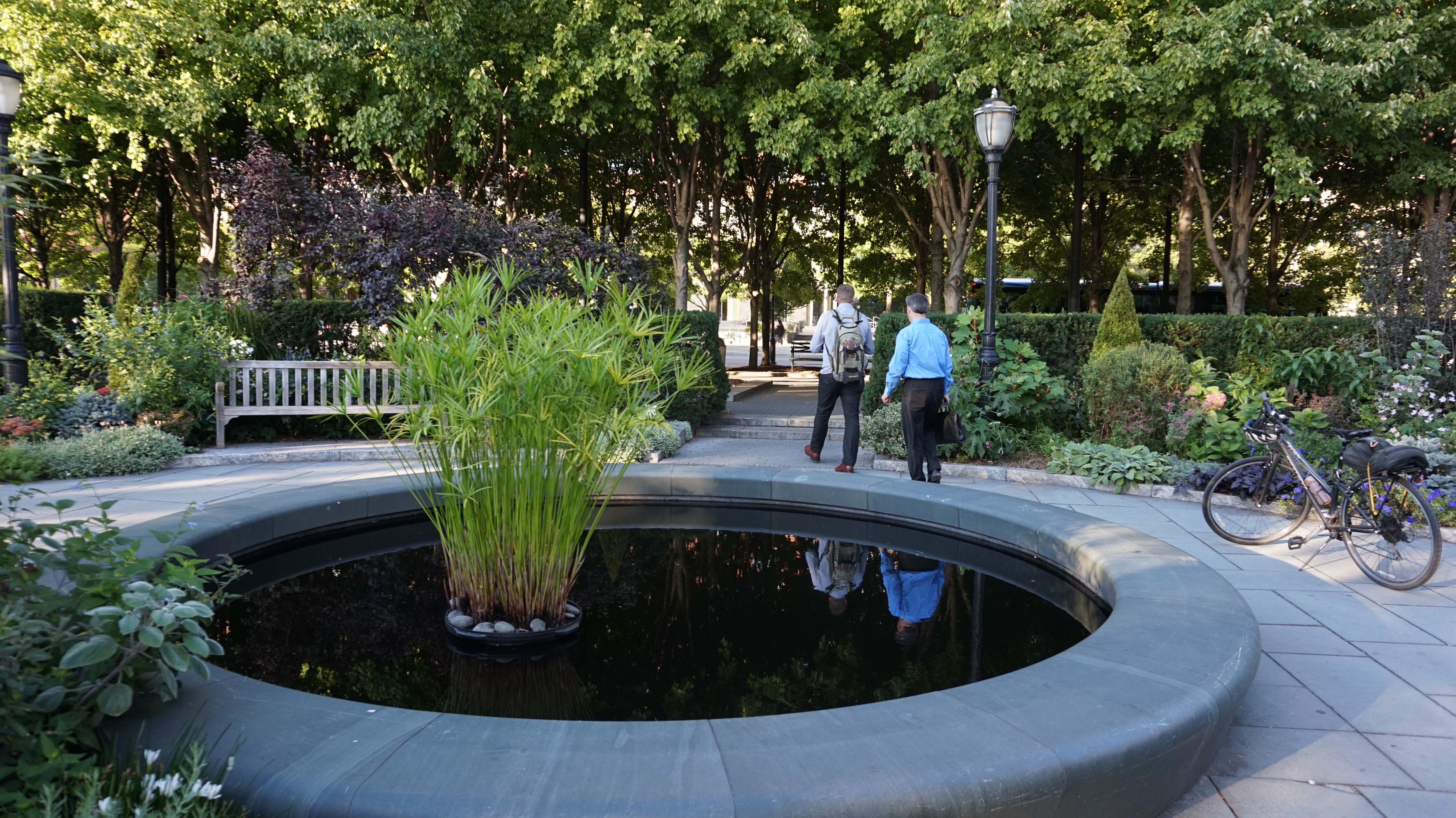 Bpca is looking to hire director of horticulture batterypark tv we inform - Reflecting pool ...