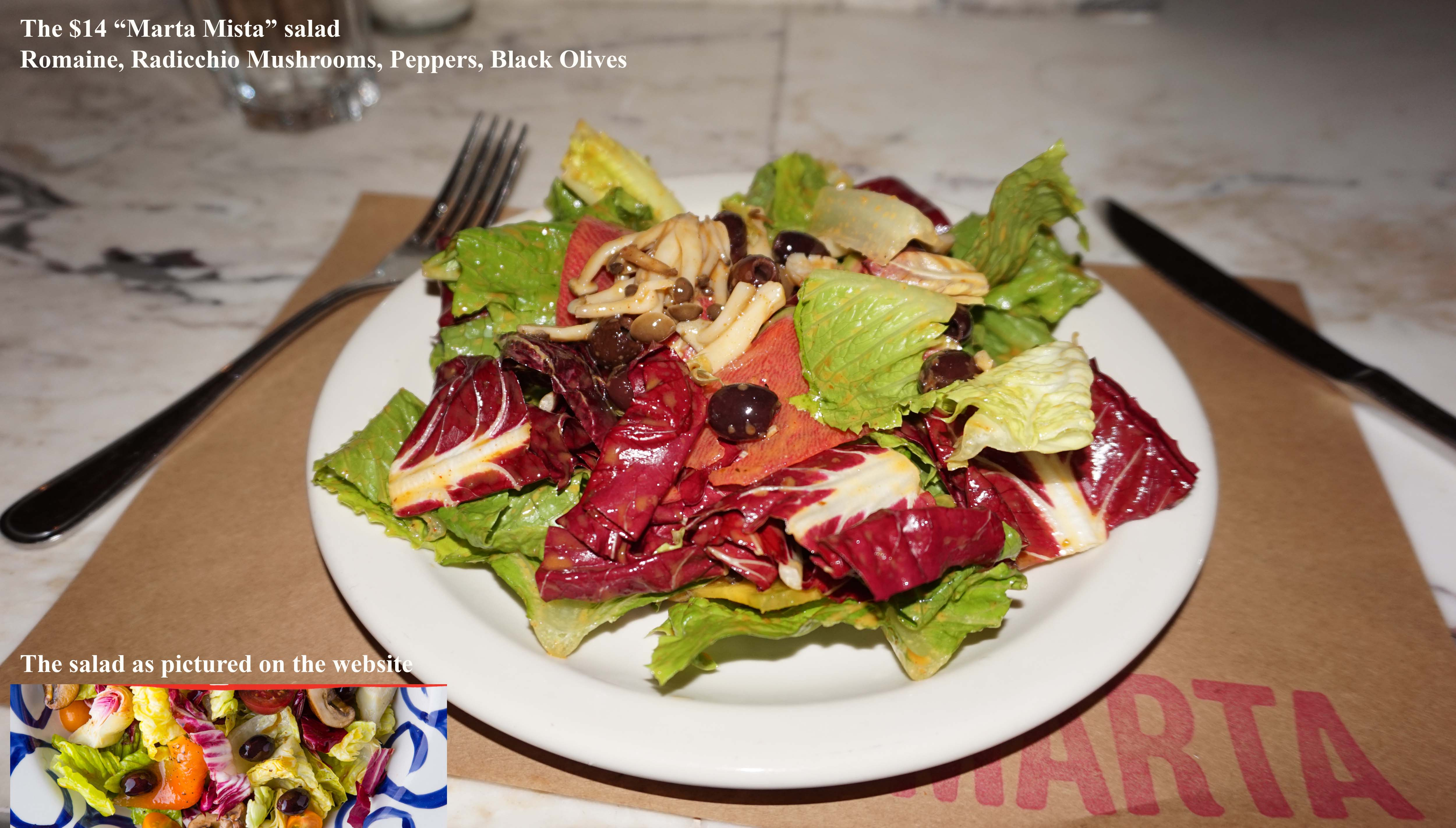 Marta Mista salad