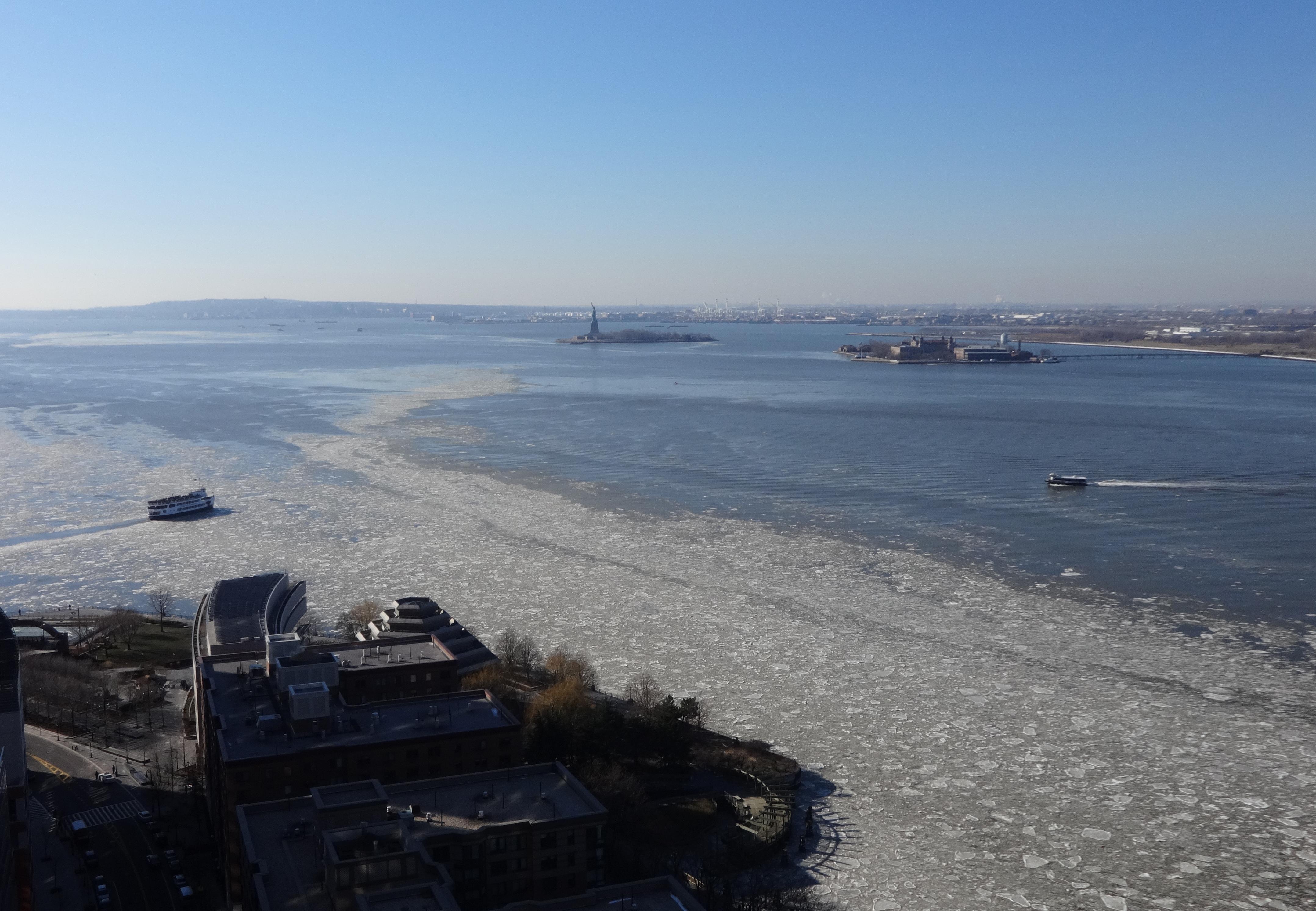 New York Harbor 1-9-2014