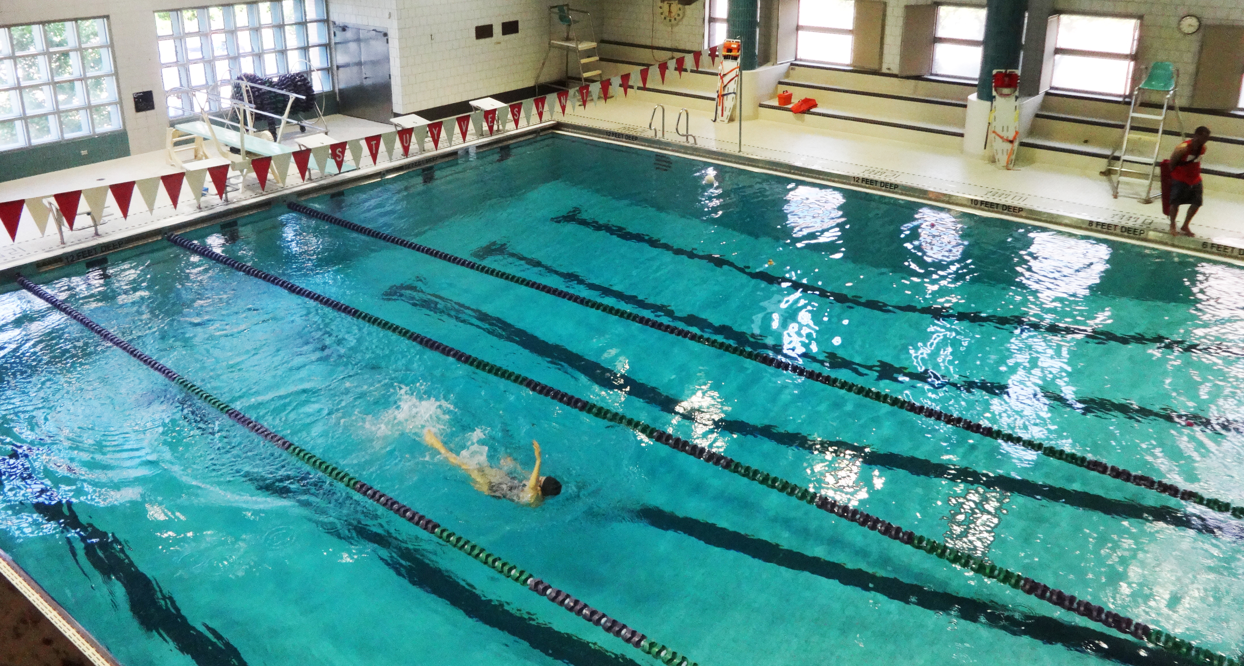 stuyvesant s pool and two basketball courts cost a month batterypark tv we inform ForStuyvesant High School Swimming Pool