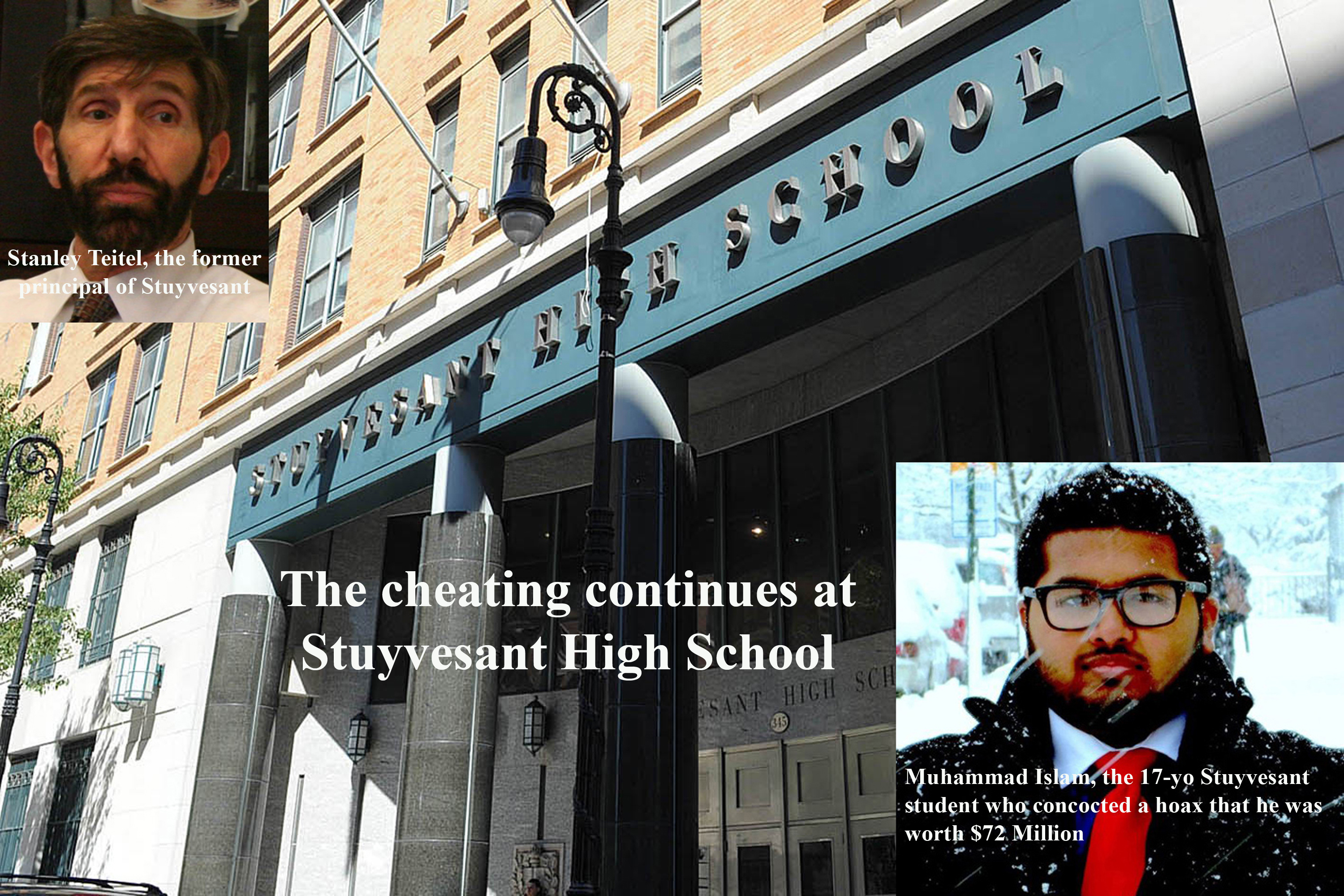 The cheating continues at Stuyvessant