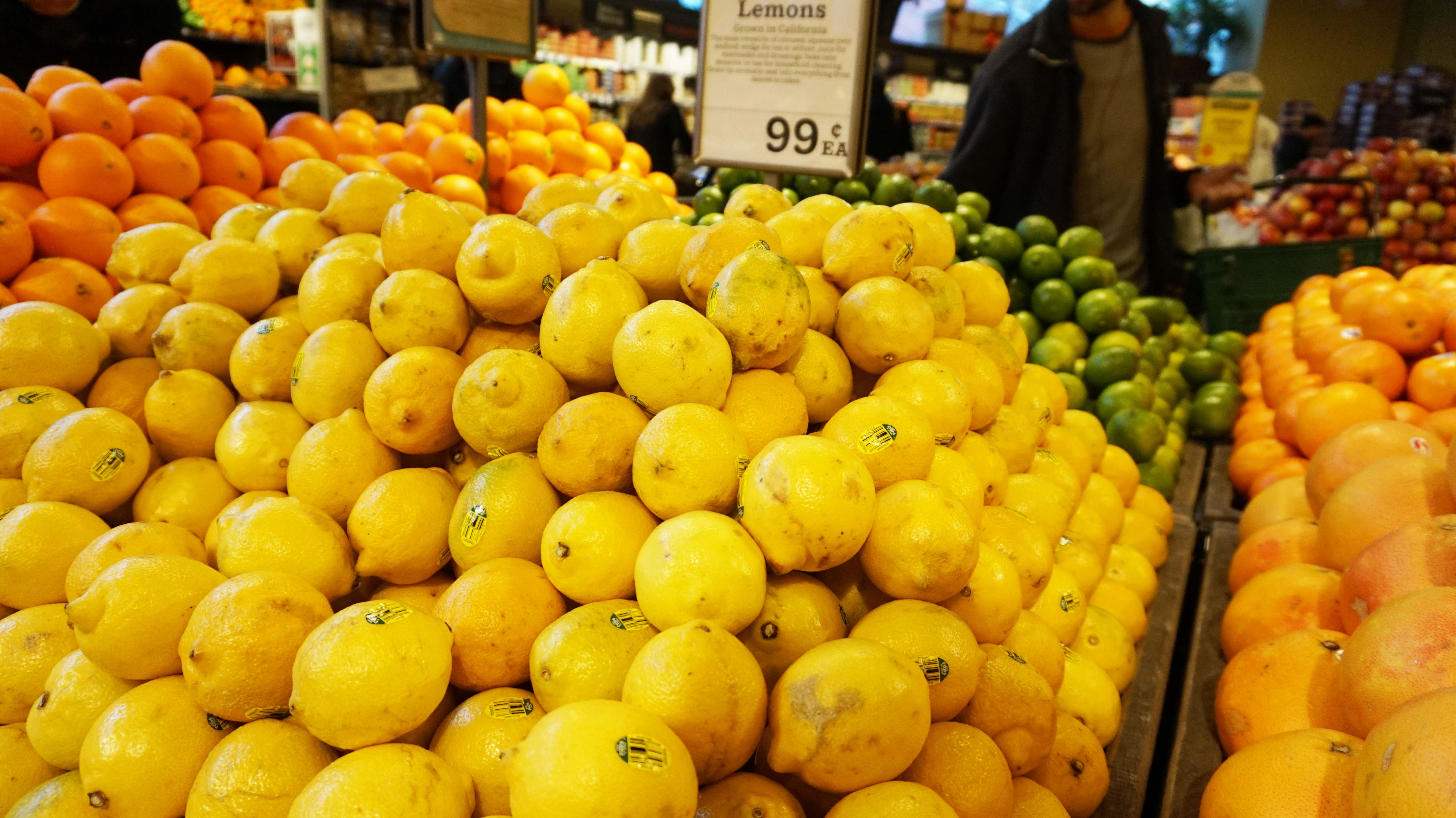 Whole Foods lemons