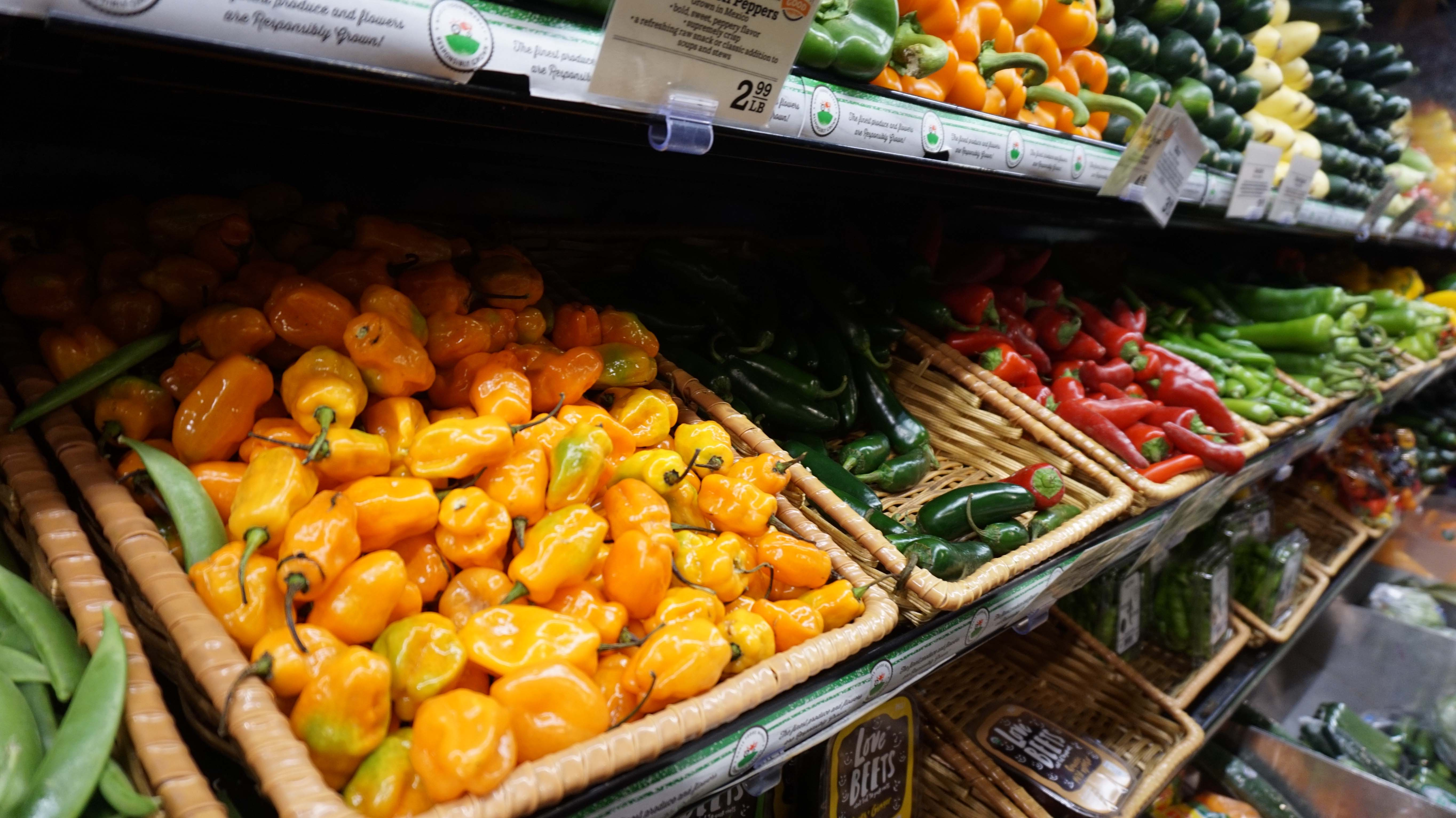 Whole Foods peppers