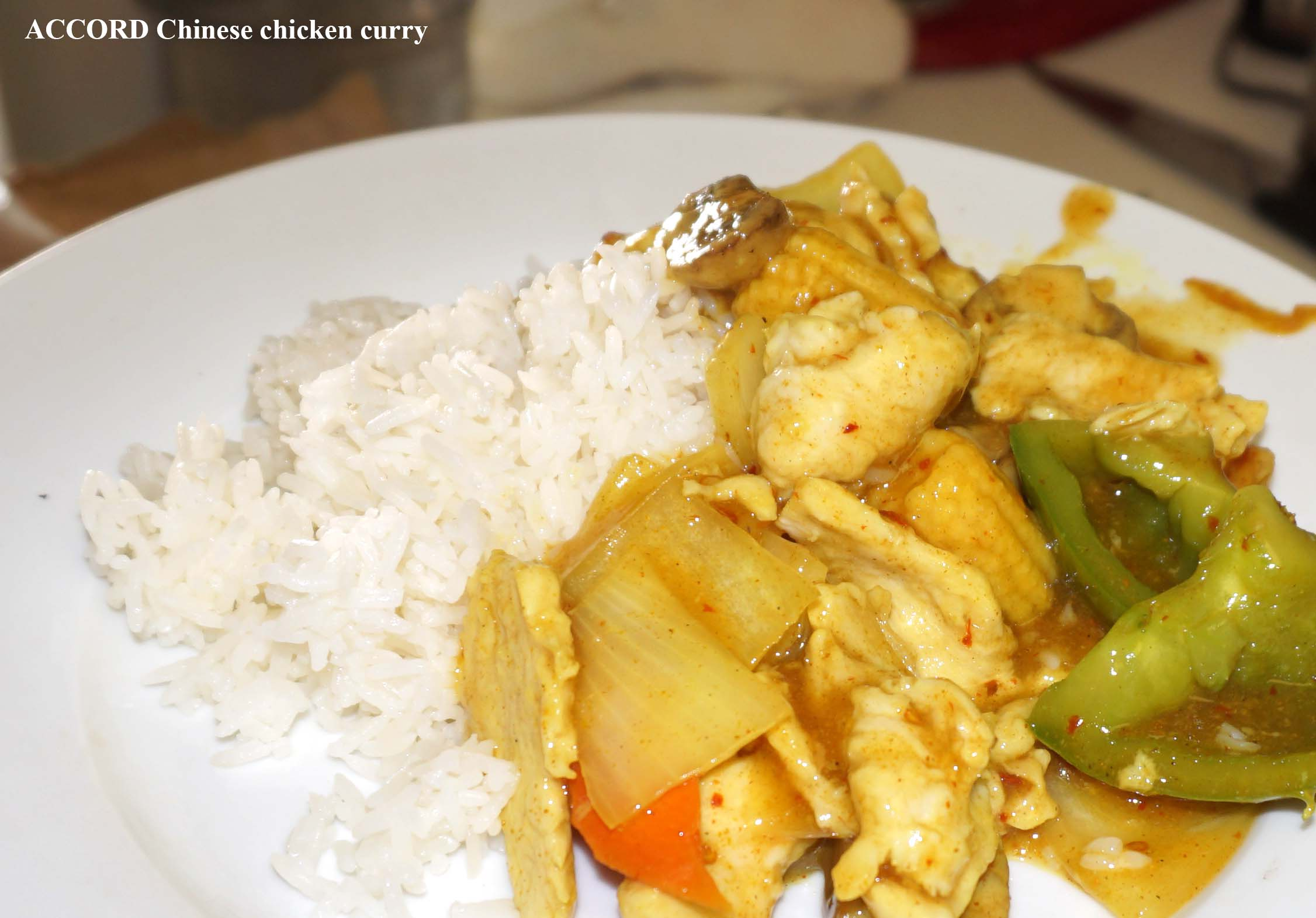 ACCORD Chinese chicken curry
