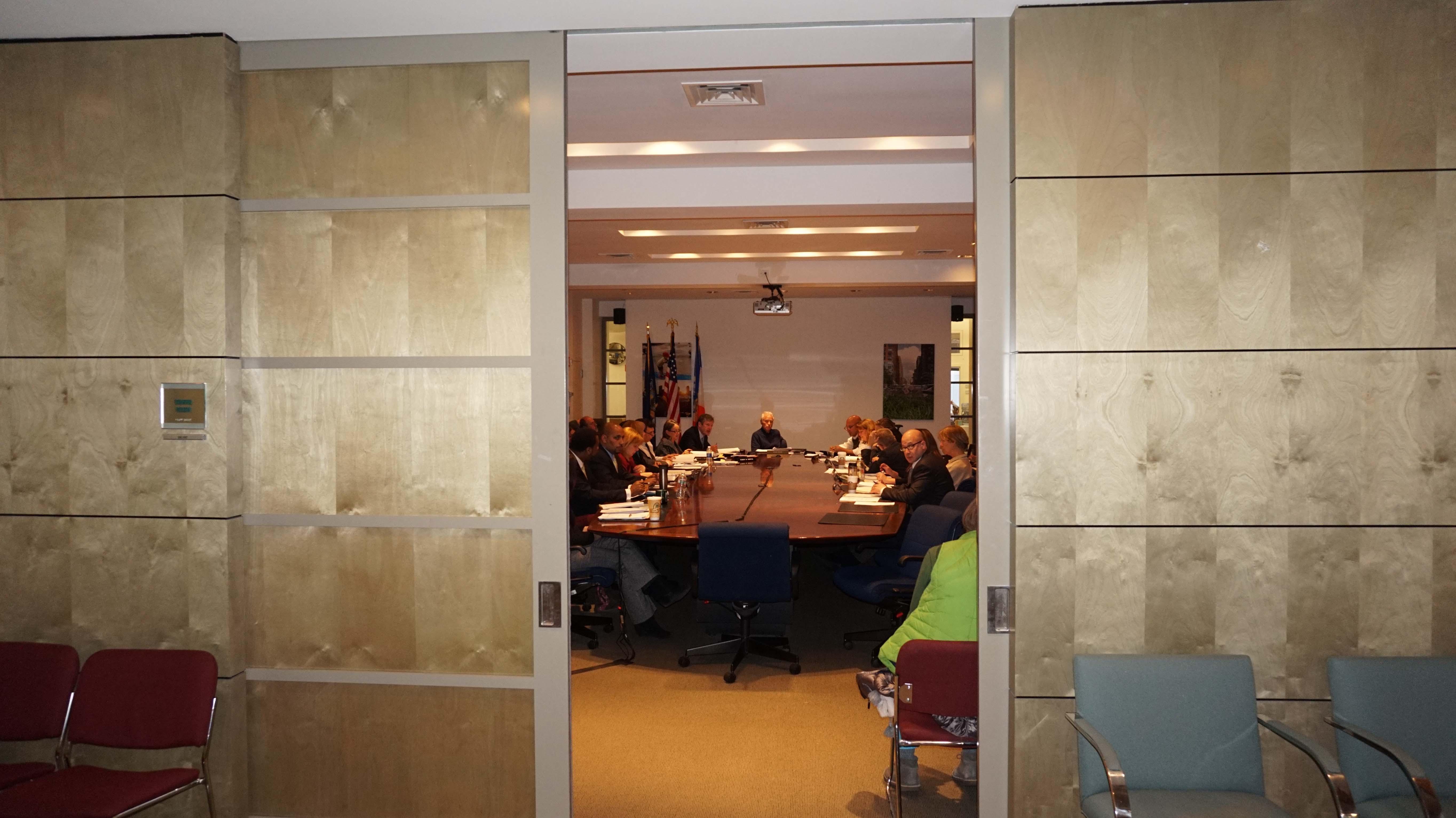 BPCA board behind closed doors 1-22-2015