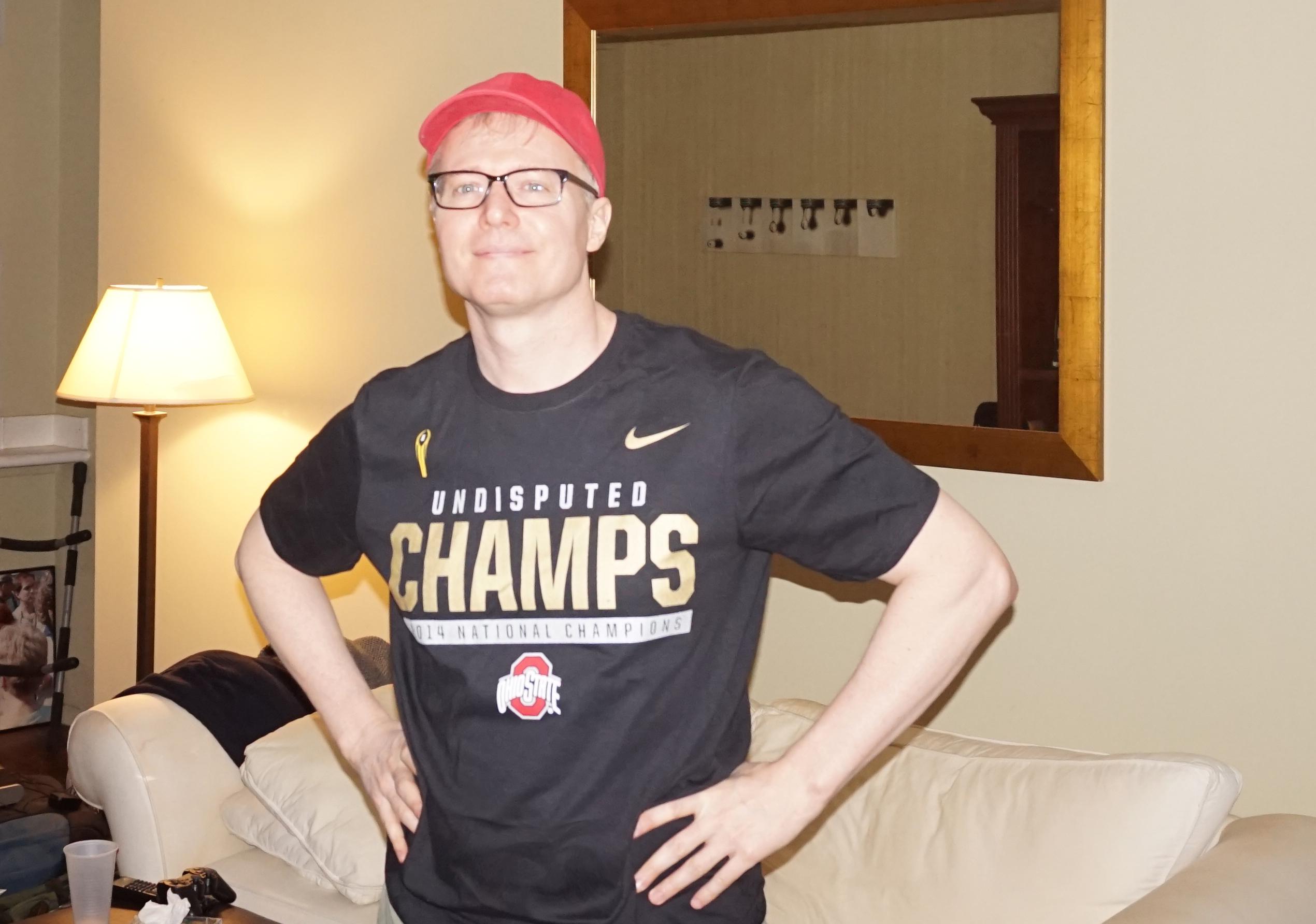 Buckeye Champs T shirt