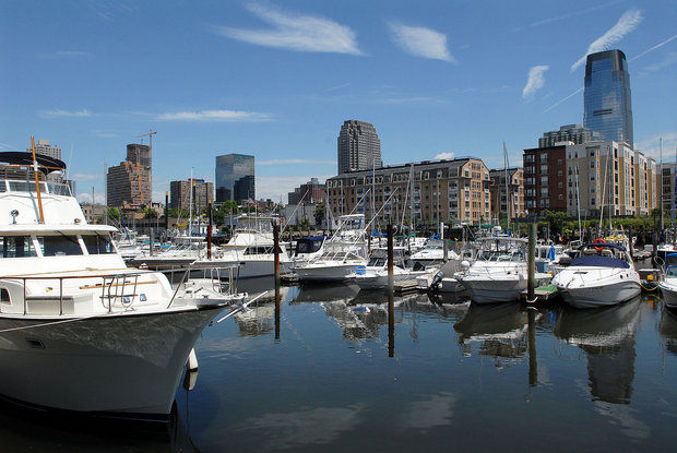 Jersey City marina