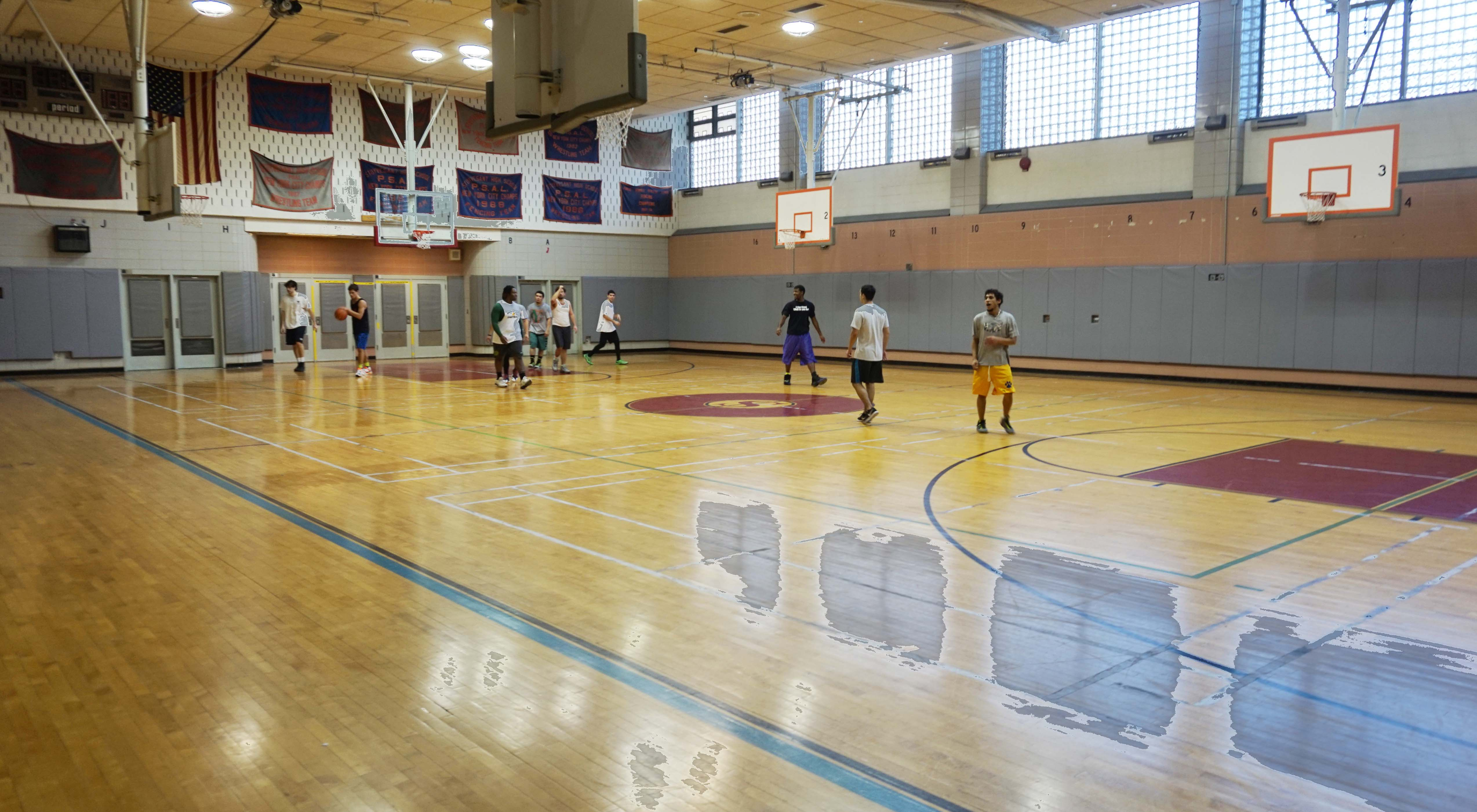 Stuyvesant basketball court