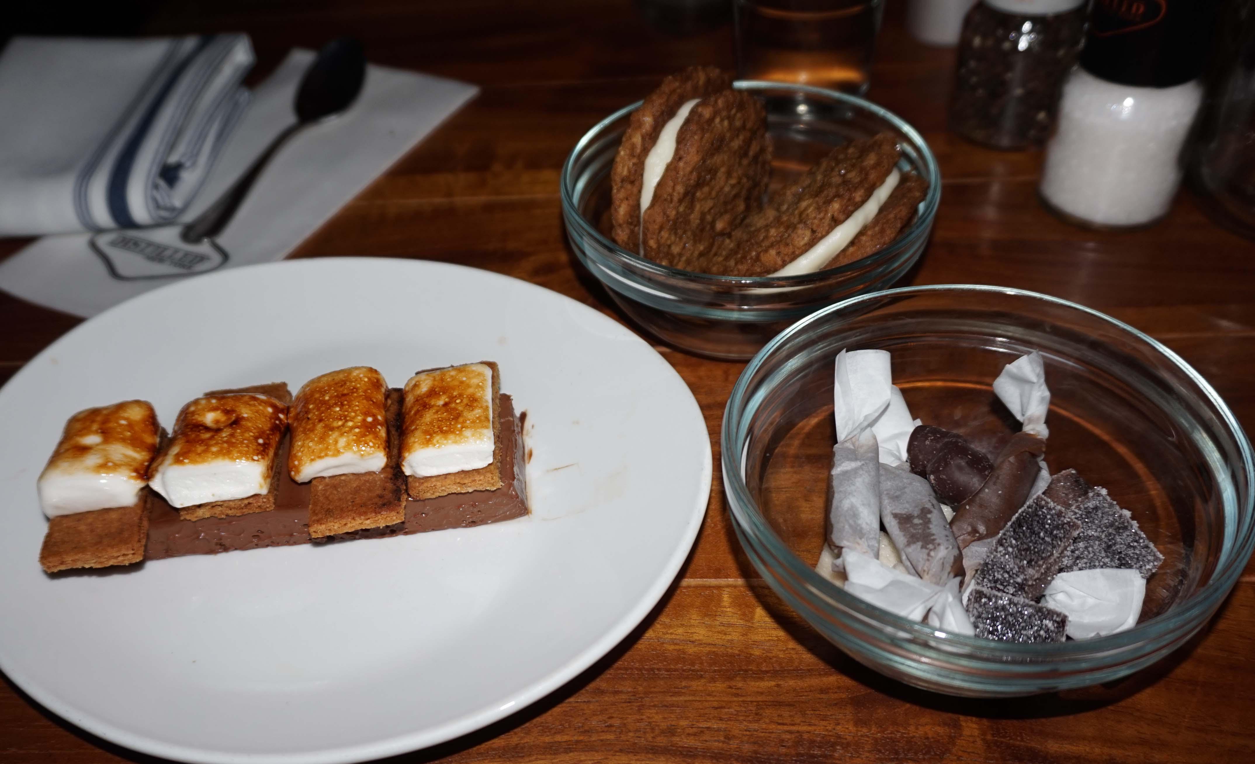 desserts at Distilled