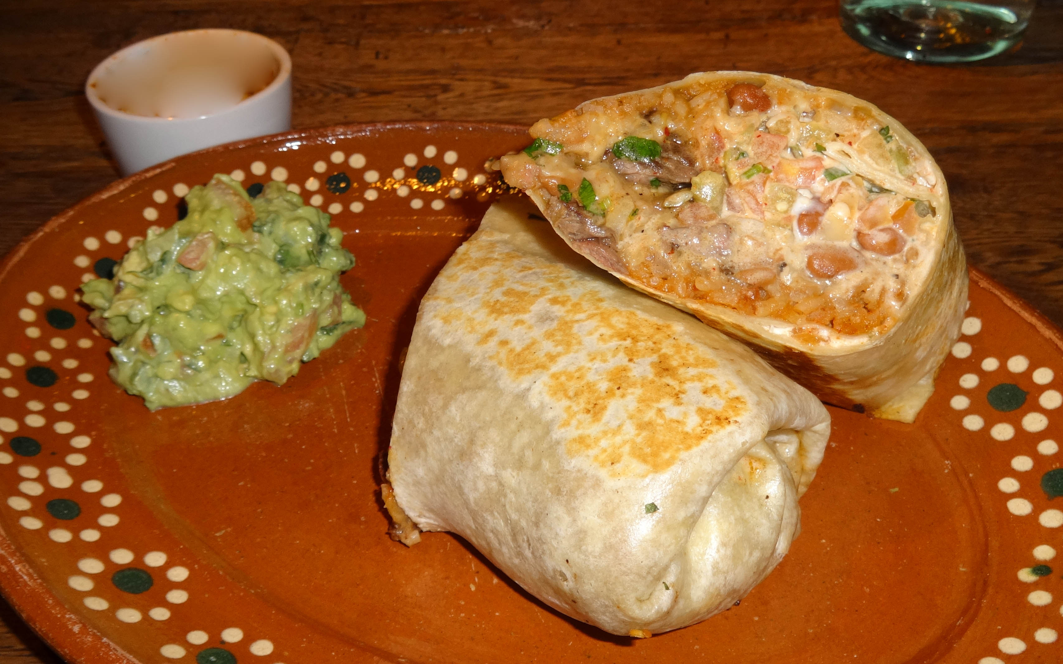 El Vez beef burrito