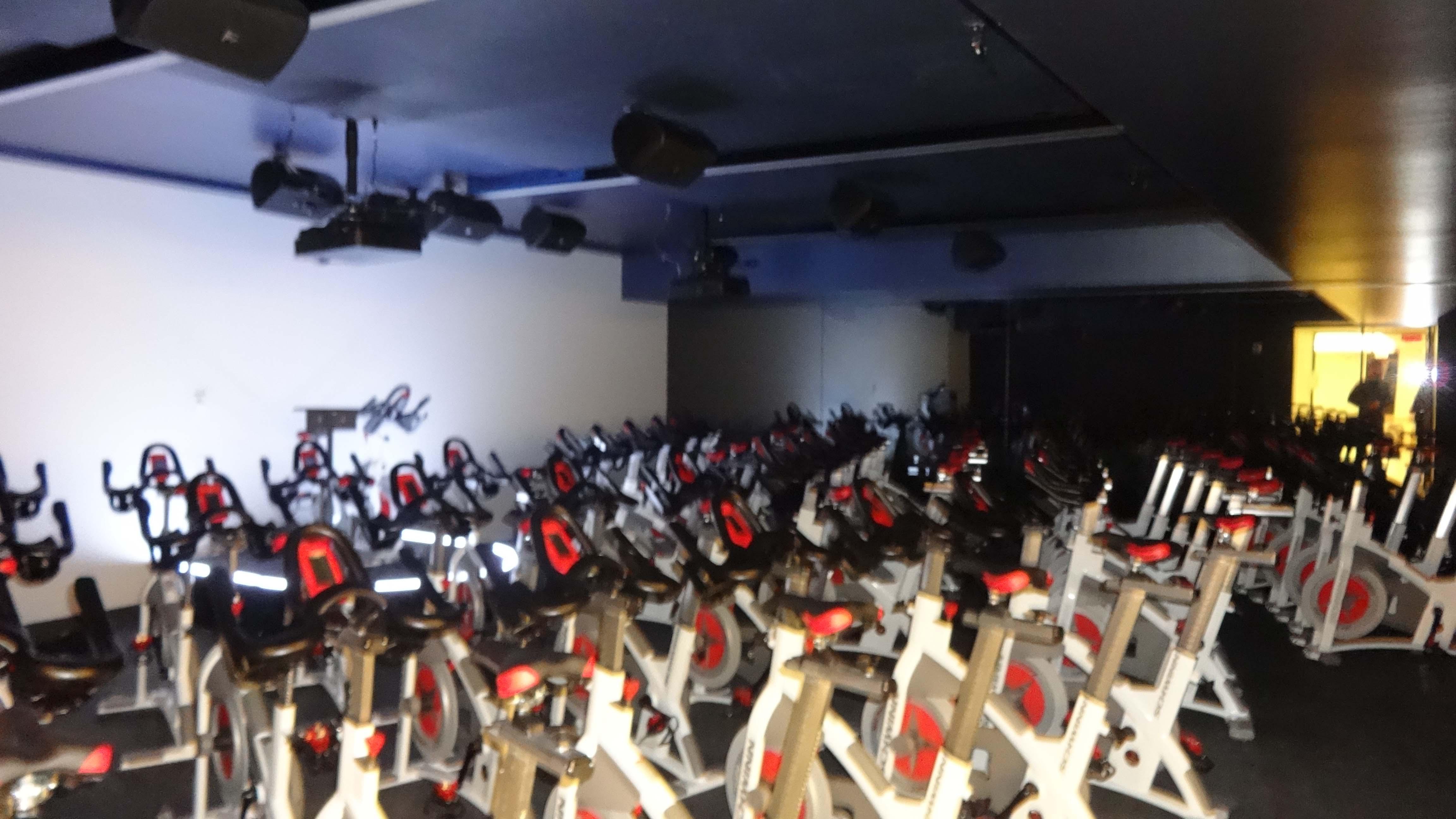 Equinox spin room