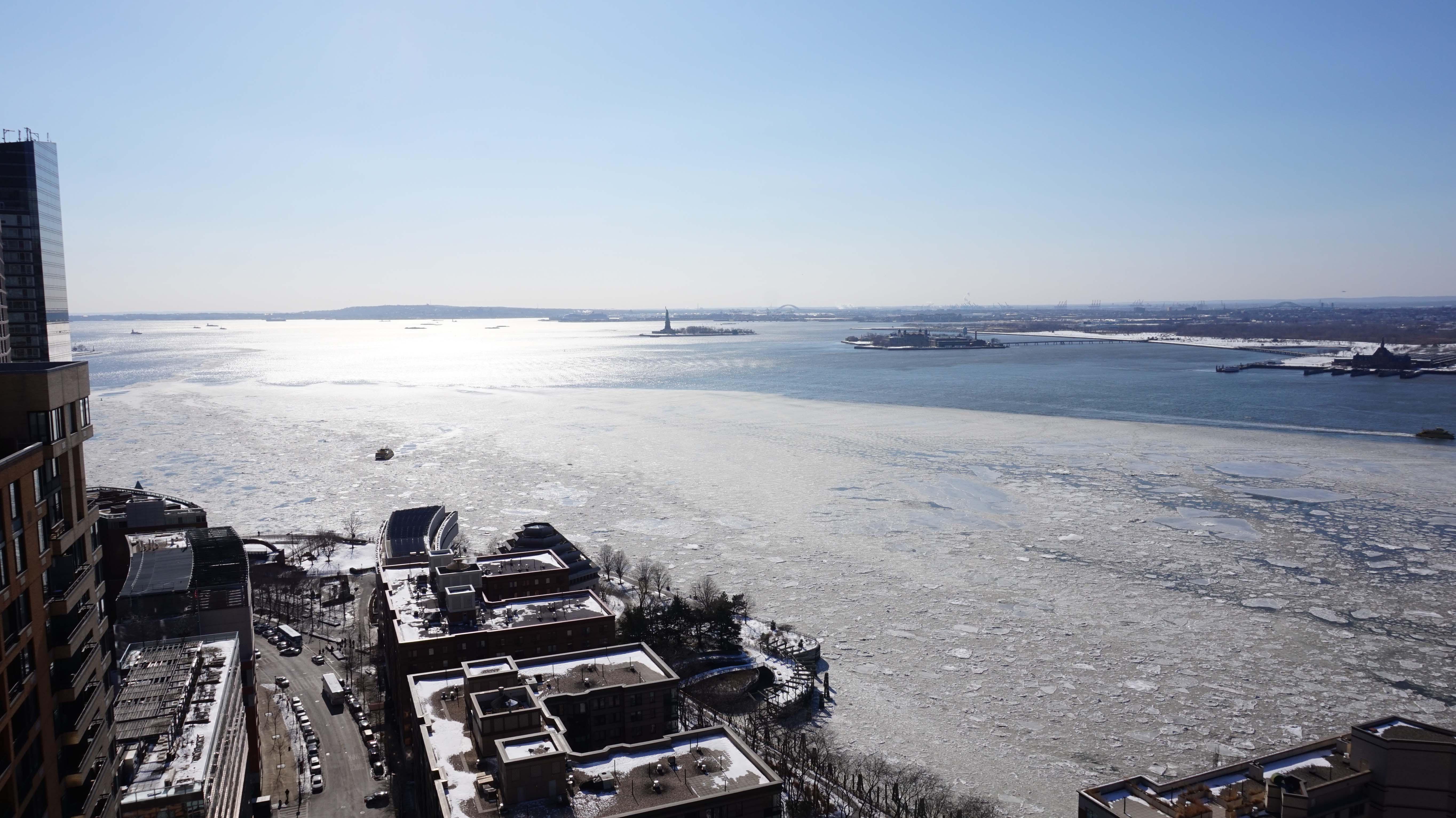 Hudson River ice B 2-20-2015