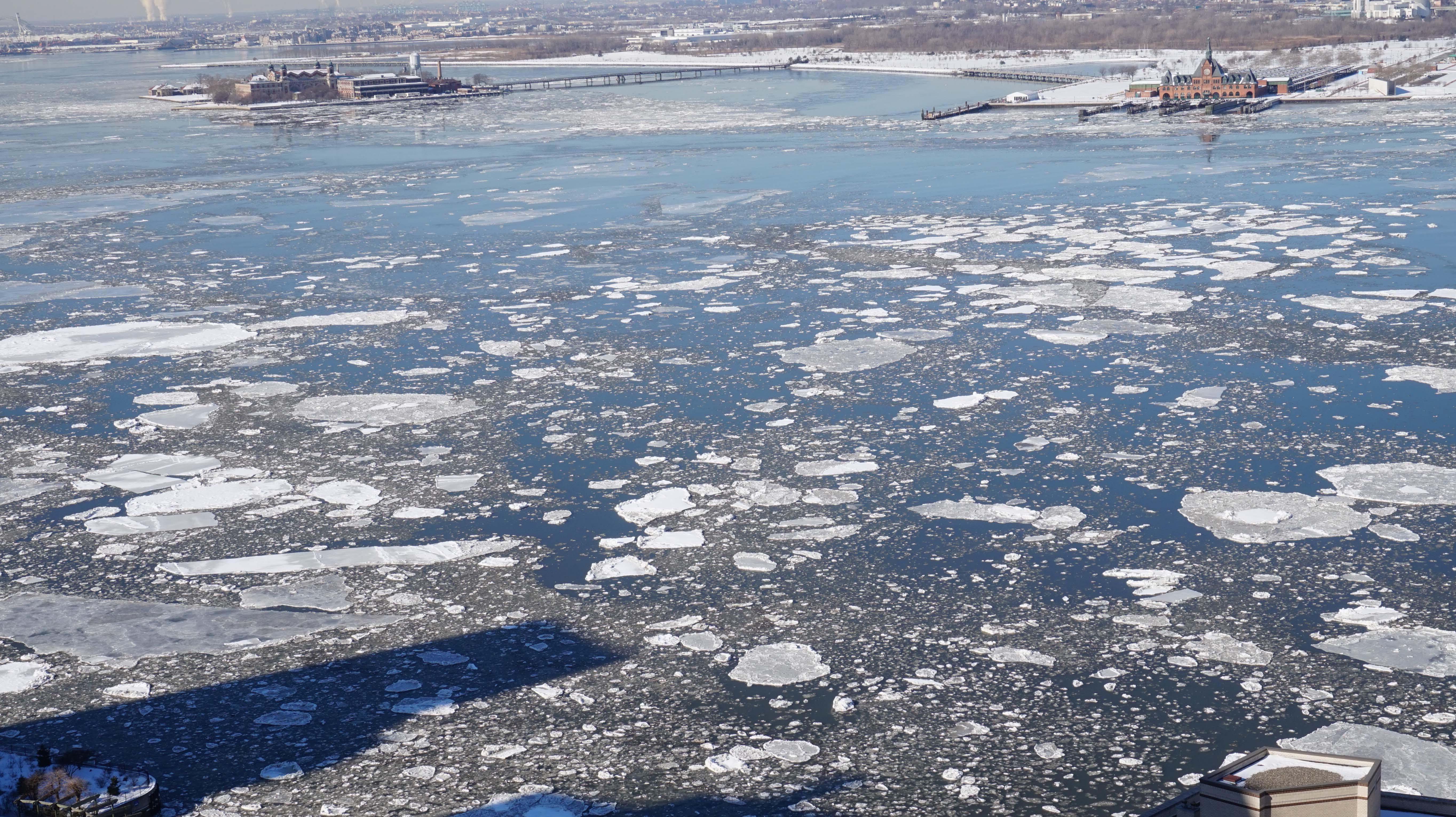 Hudson ice 2-24-2015