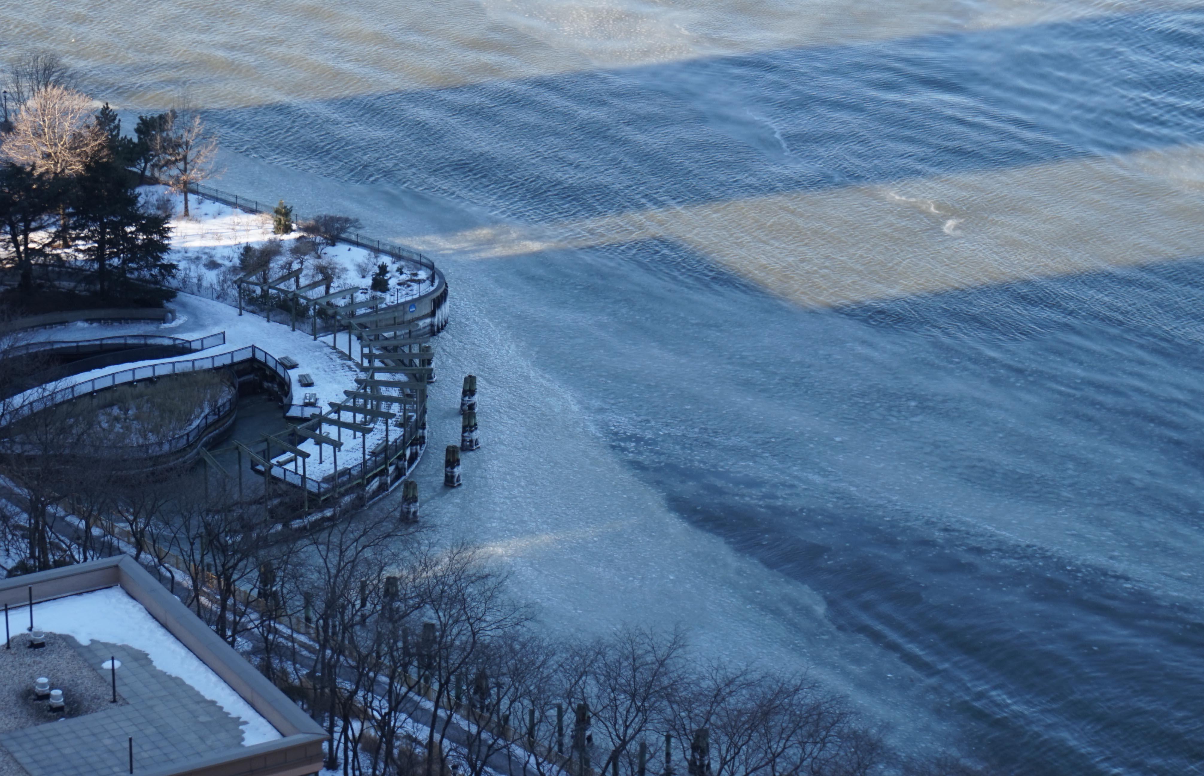 Ice on Hudson 2-13-2015