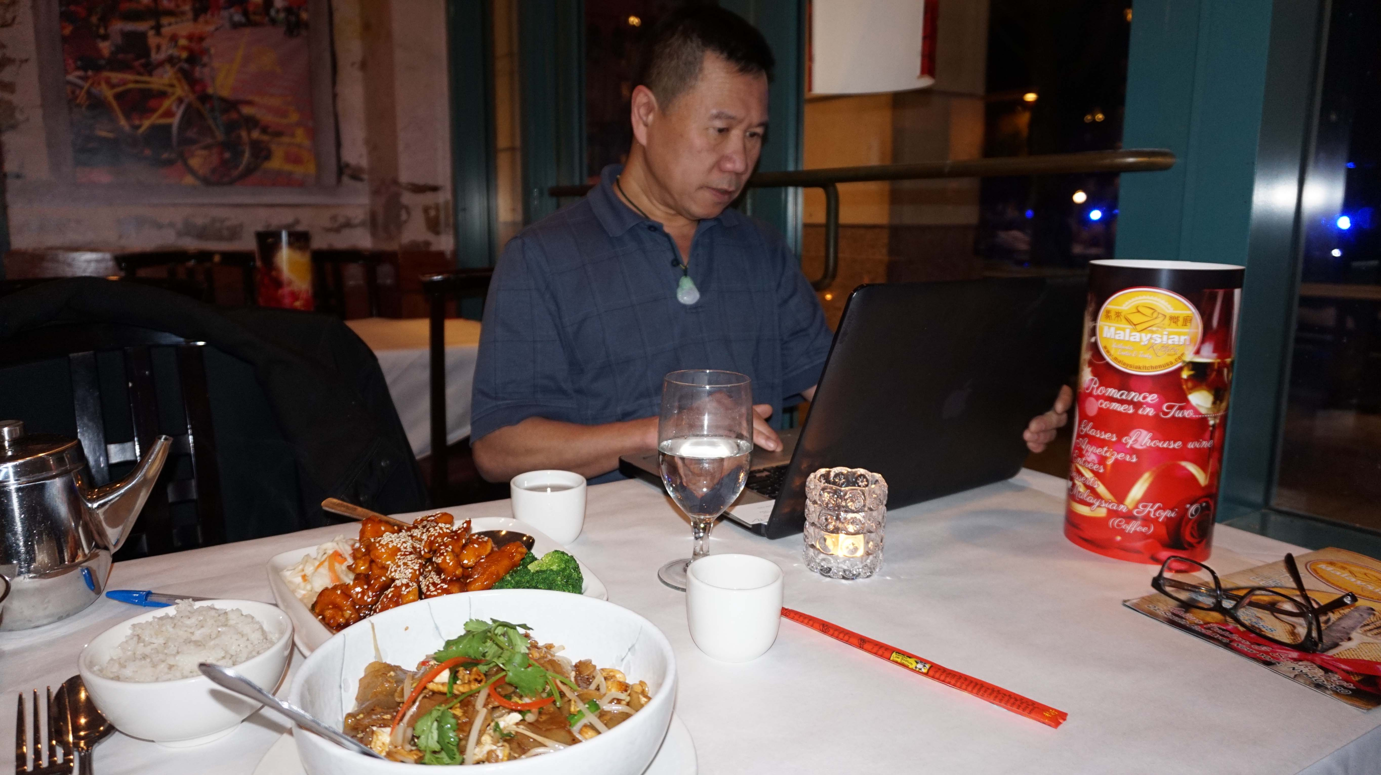 Malaysian Kitchen owner Kirby Tan