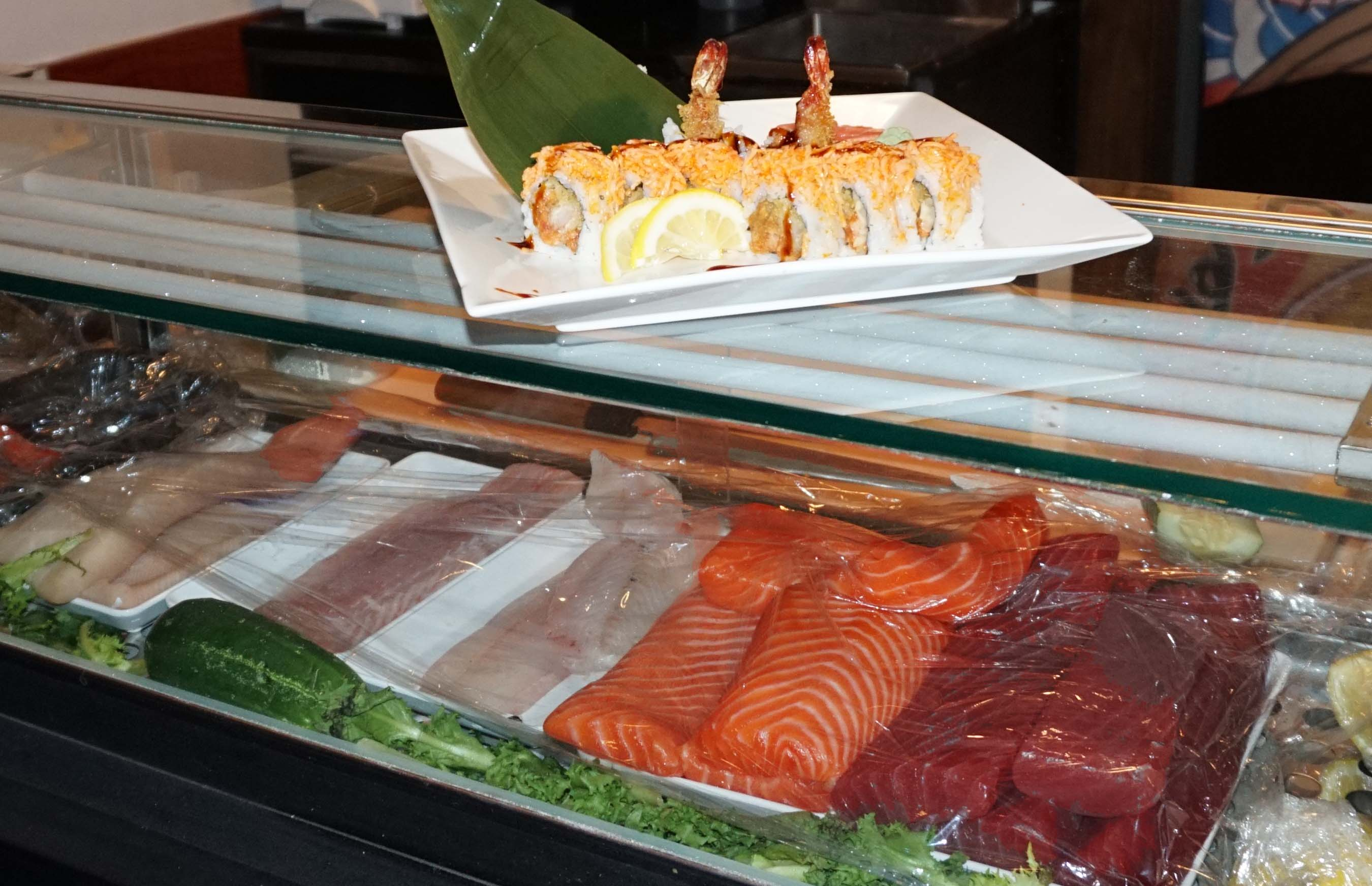 Malaysian Kitchen sushi wide