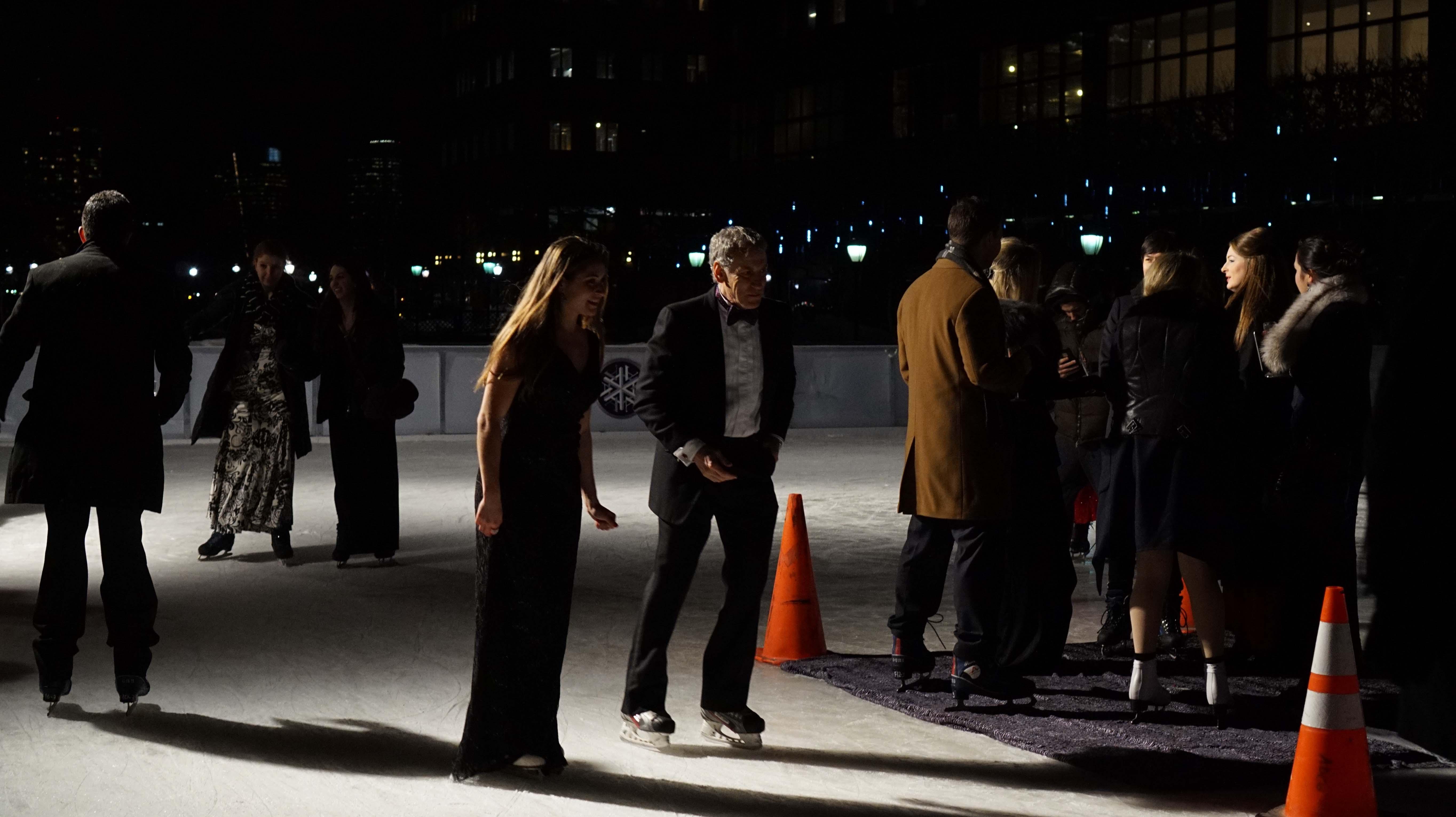 Moet ice skating 2