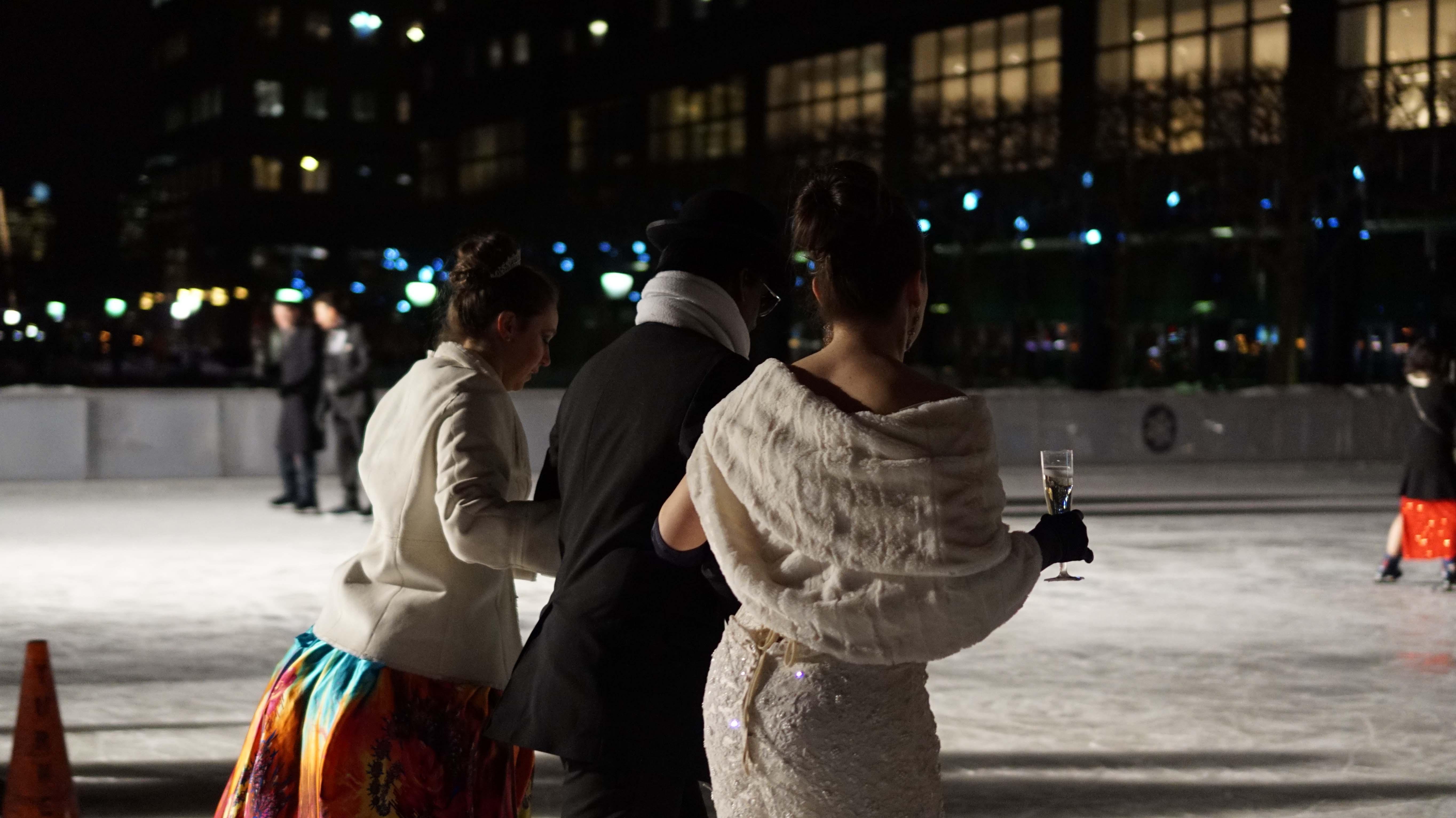 Moet ice skating 3
