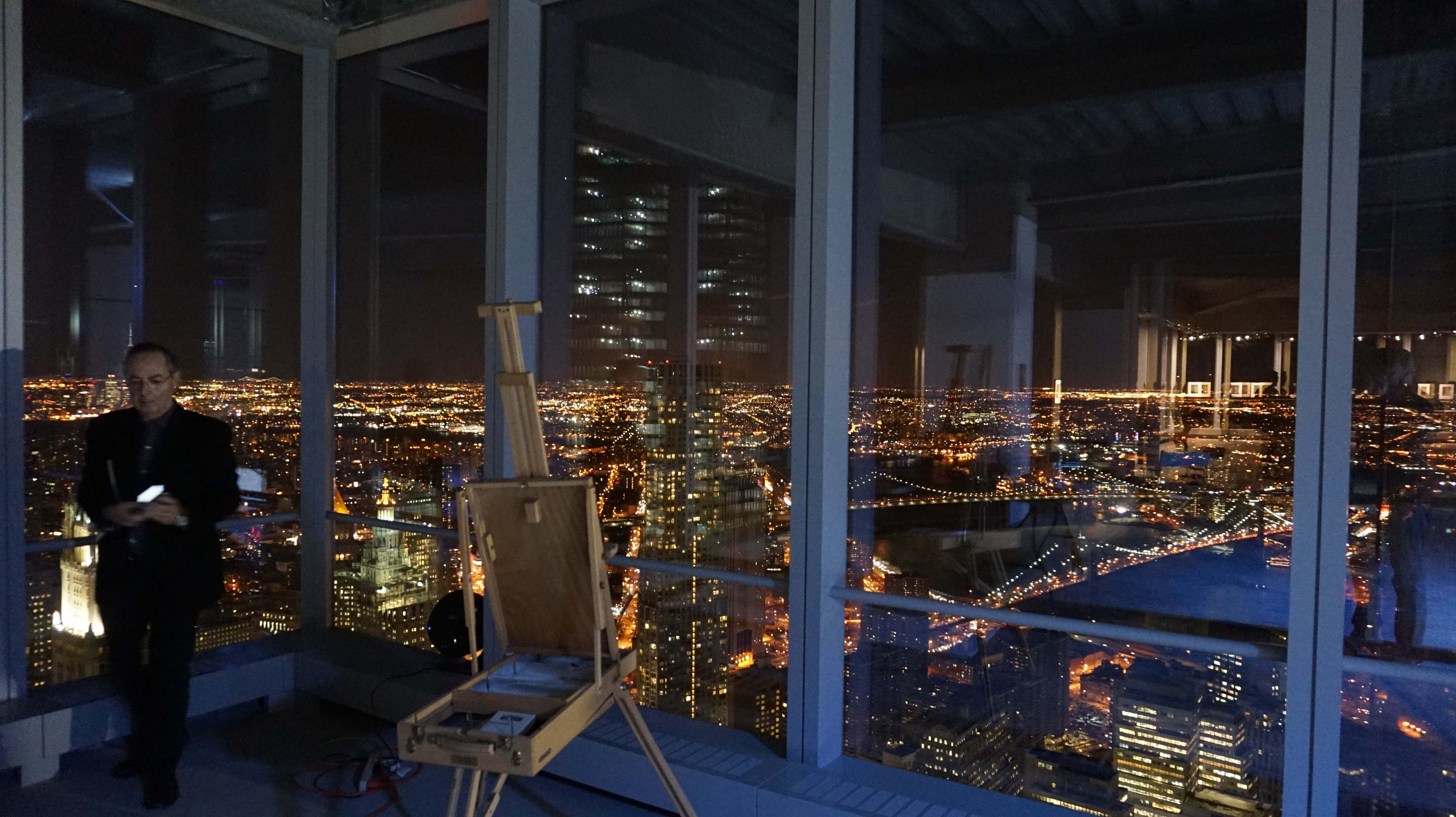 North East view WTC 4 night