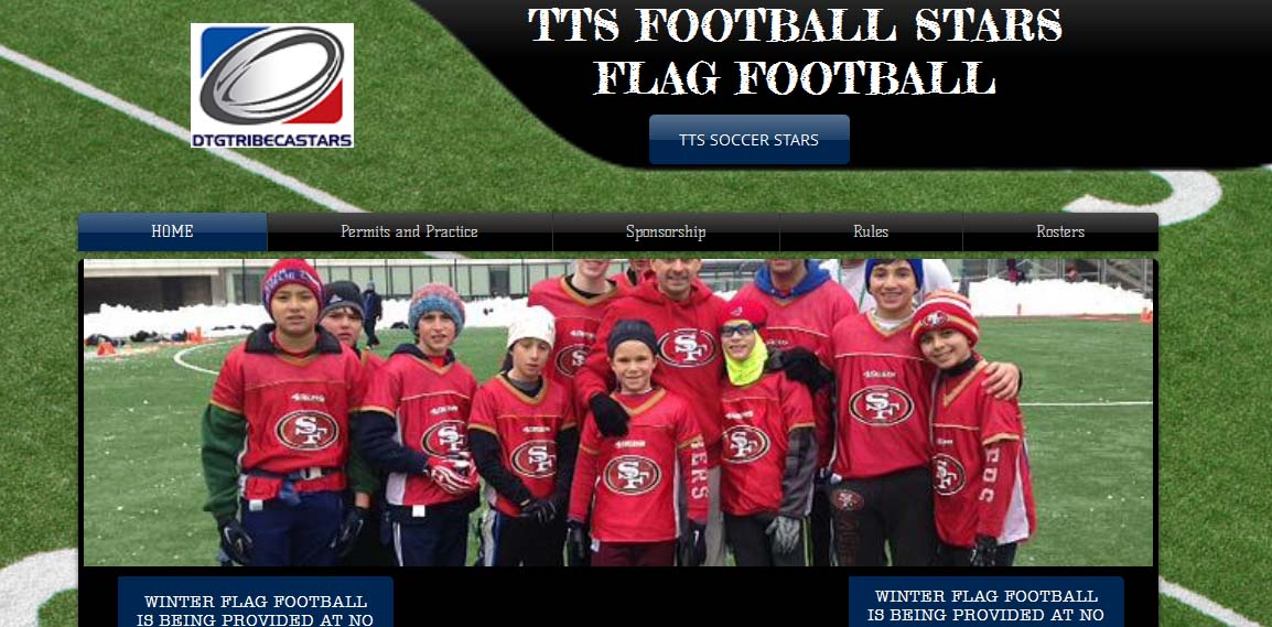 Tribeca Travel Sport flag football