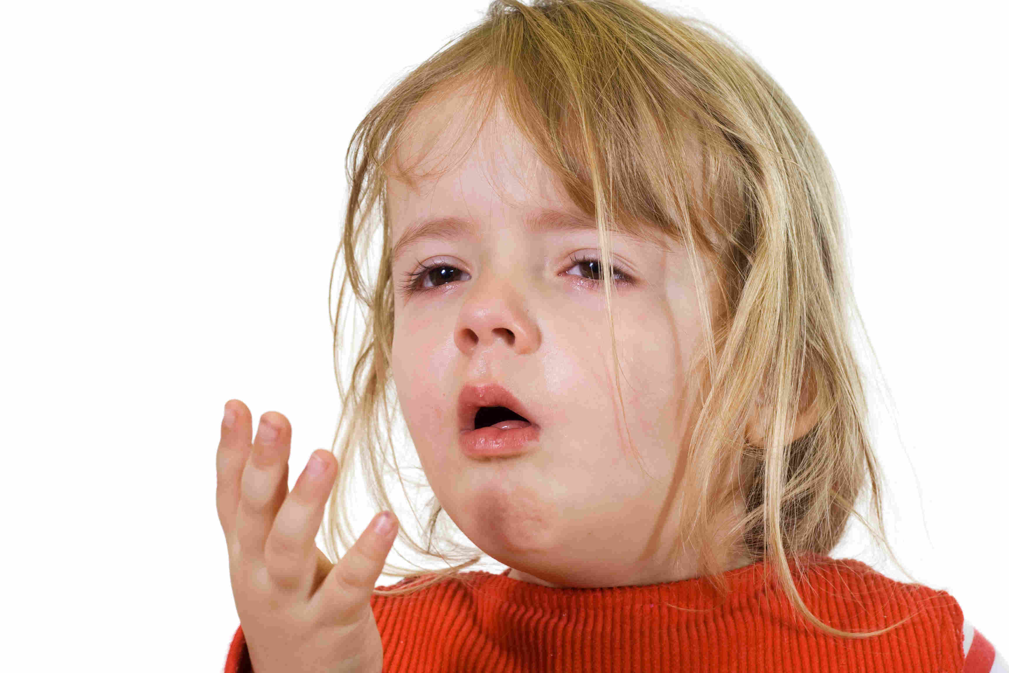 coughing kid