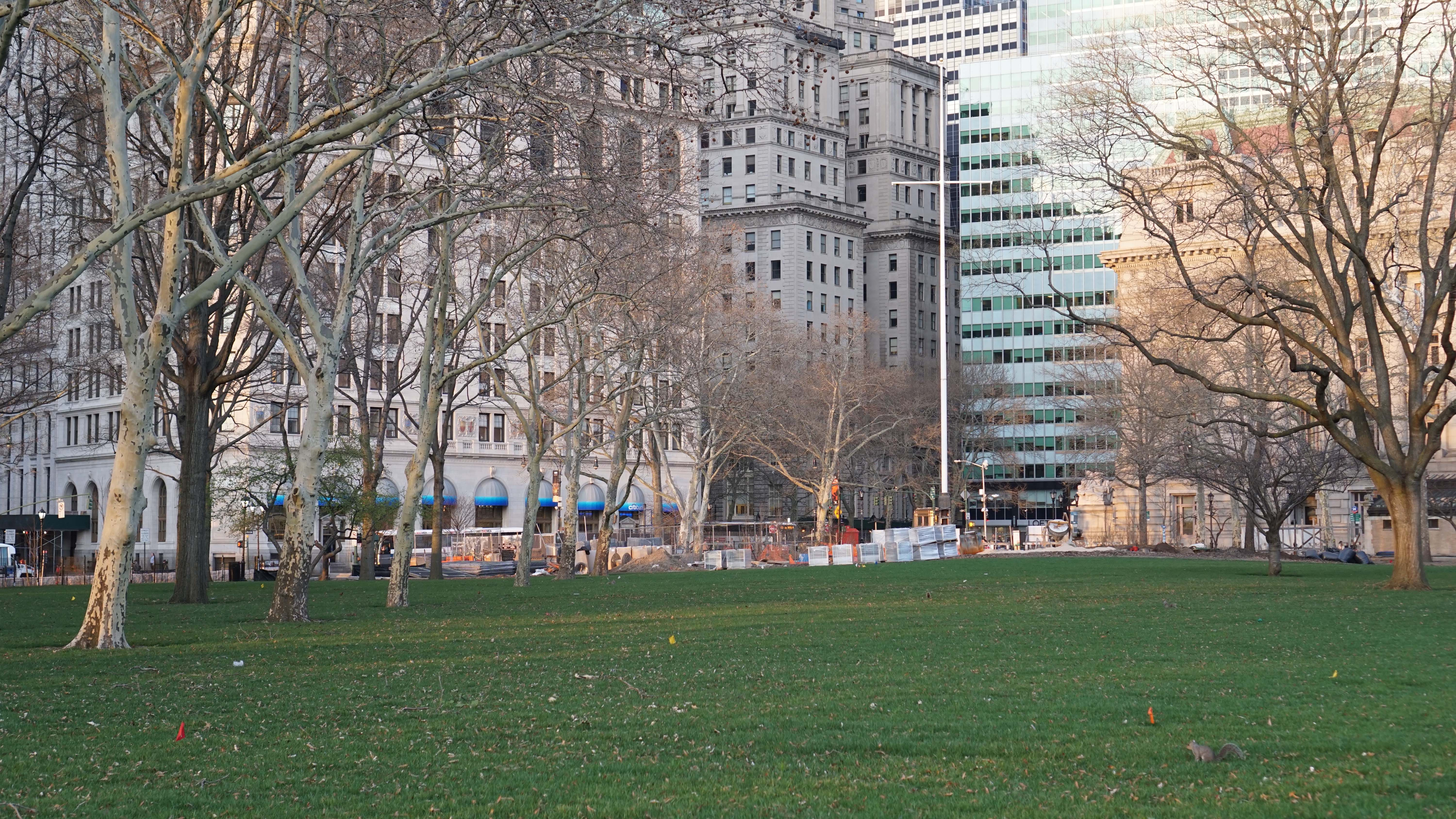 Battery Park Conservancy open 12